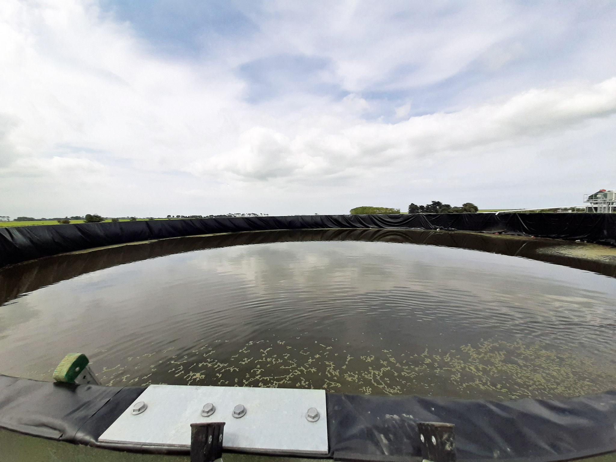 50m Effluent Tank Liner Taranaki