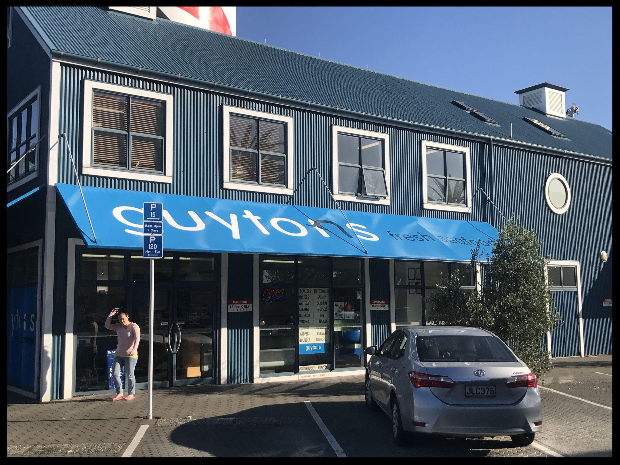 Guyton's Awning, Port Nelson