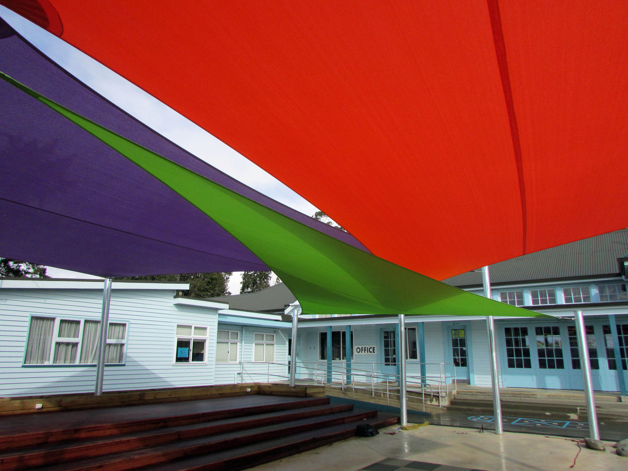 Richmond School Shade Sails