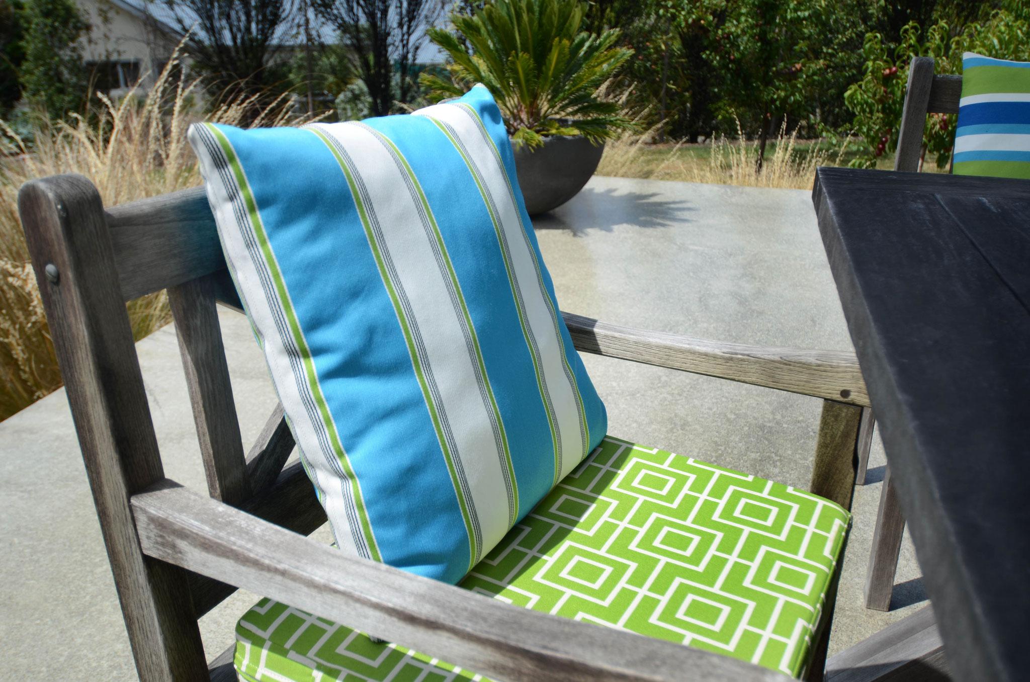 Warwick outdoor squab & cushion