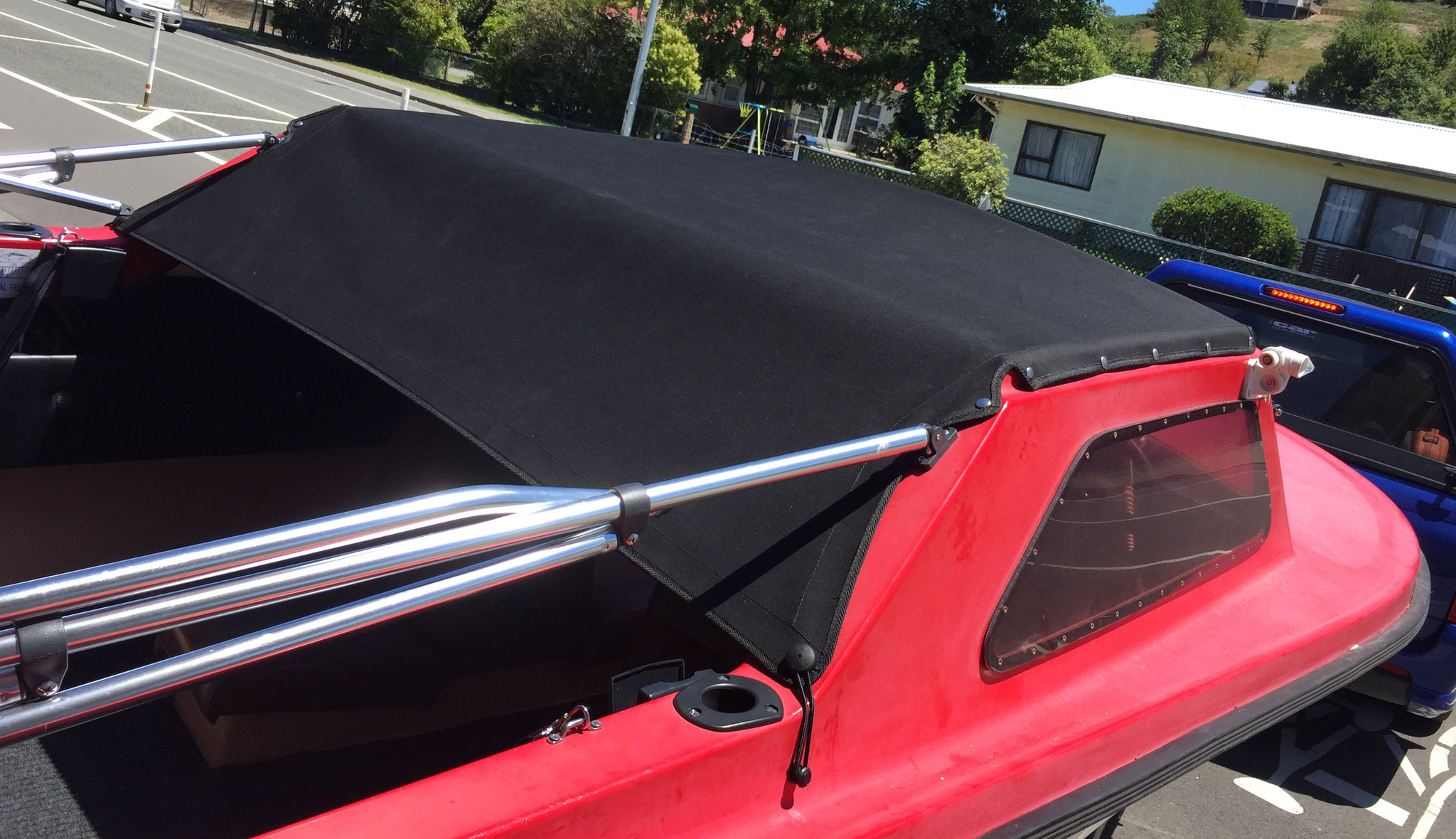 Boat Canopy, Nelson, New Zealand