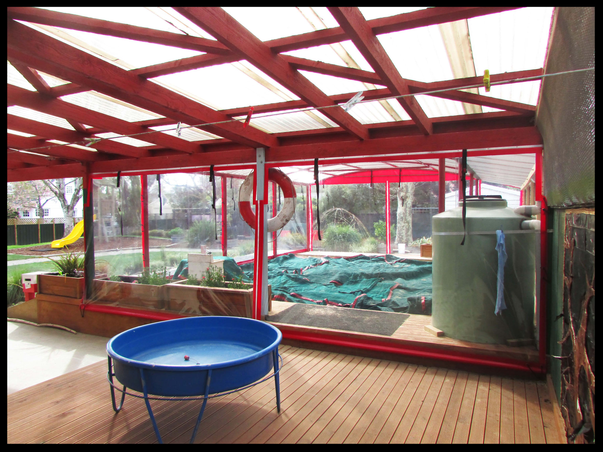 Sandpit Playroom, Springlands Kindergarten, Blenheim
