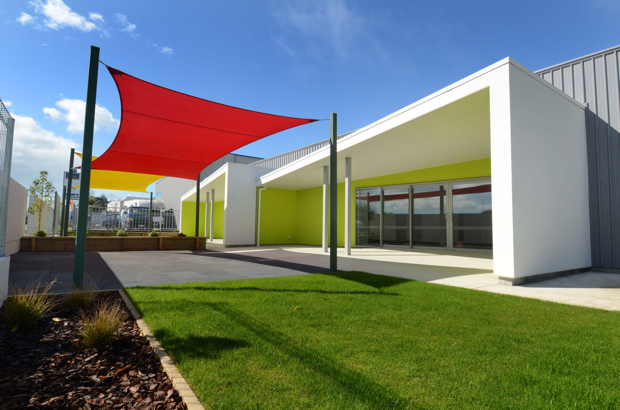Early childhood centre shade, Nelson