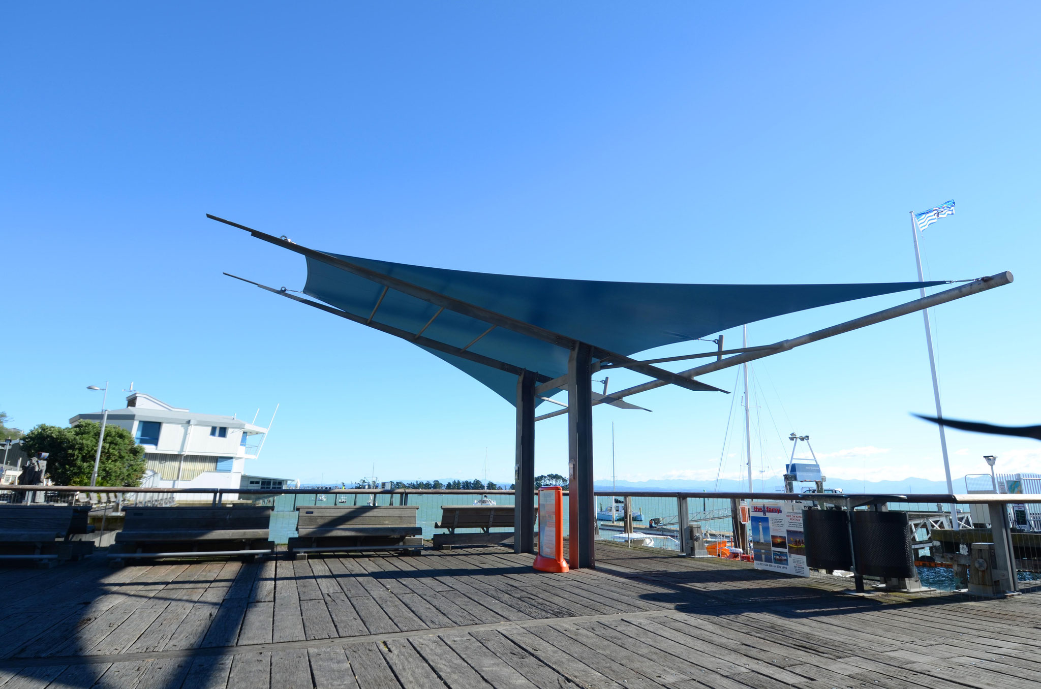 Waterfront Shade, Port Nelson
