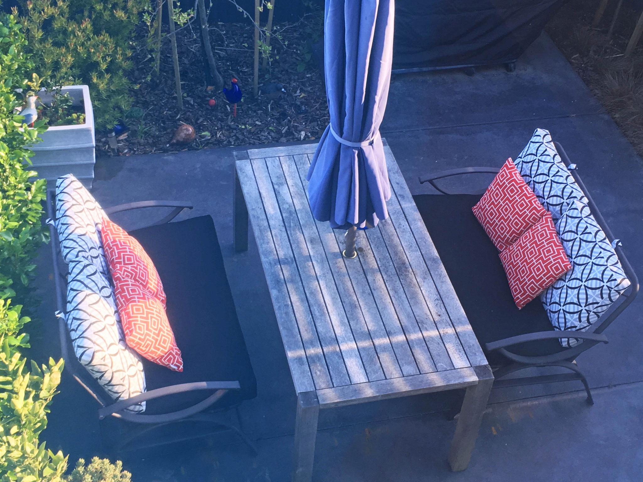 Warwick outdoor squabs & cushions