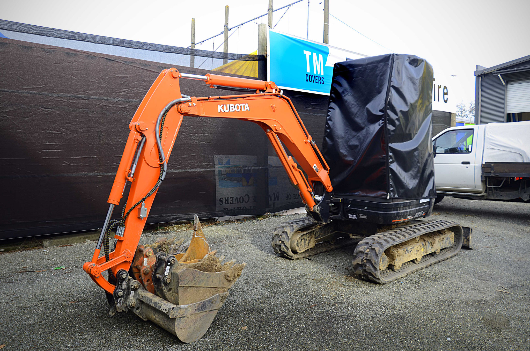 Digger Cover, New Zealand