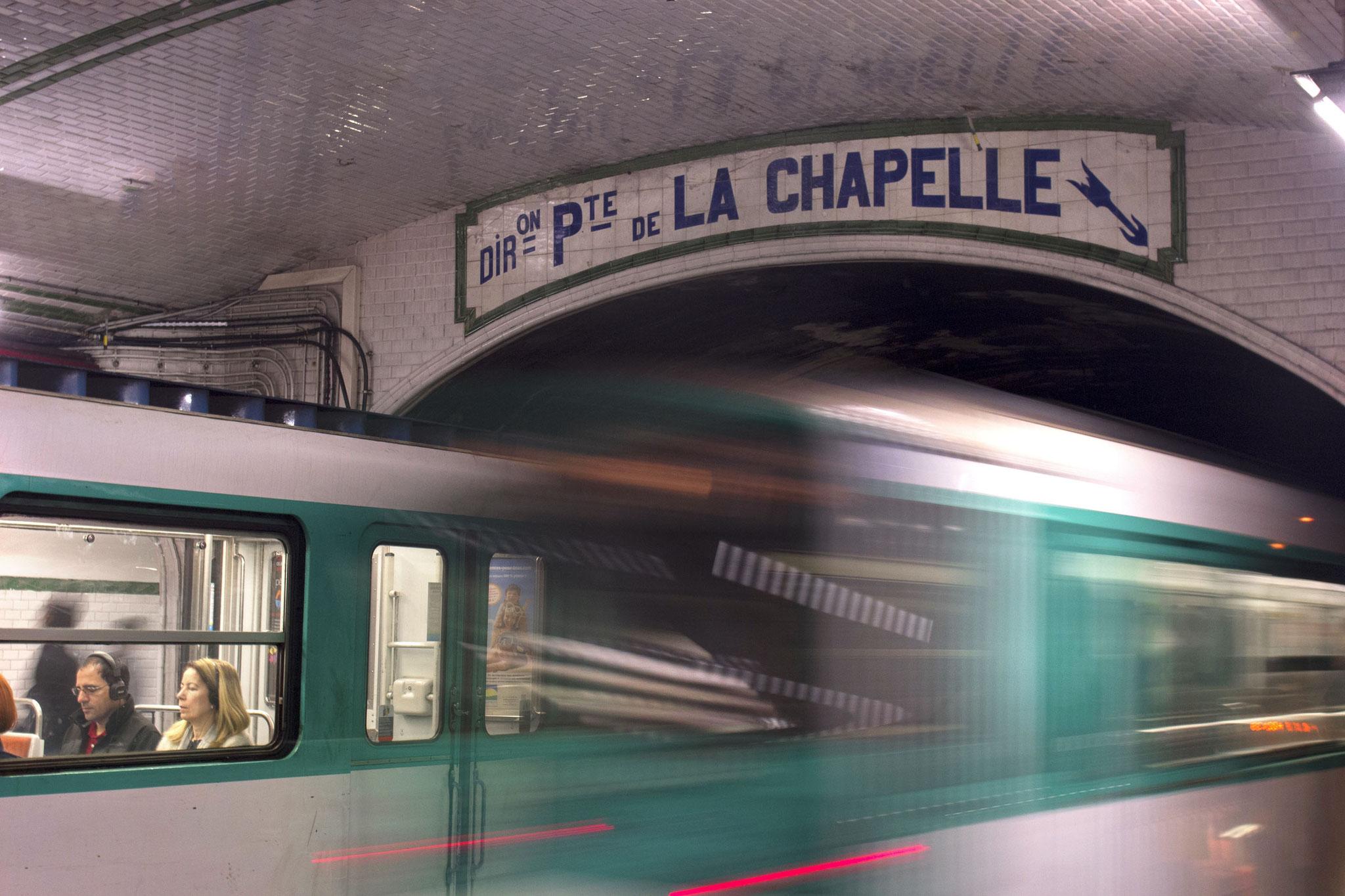 10 - Philippe GOMIS - PORTE DE LA CHAPELLE