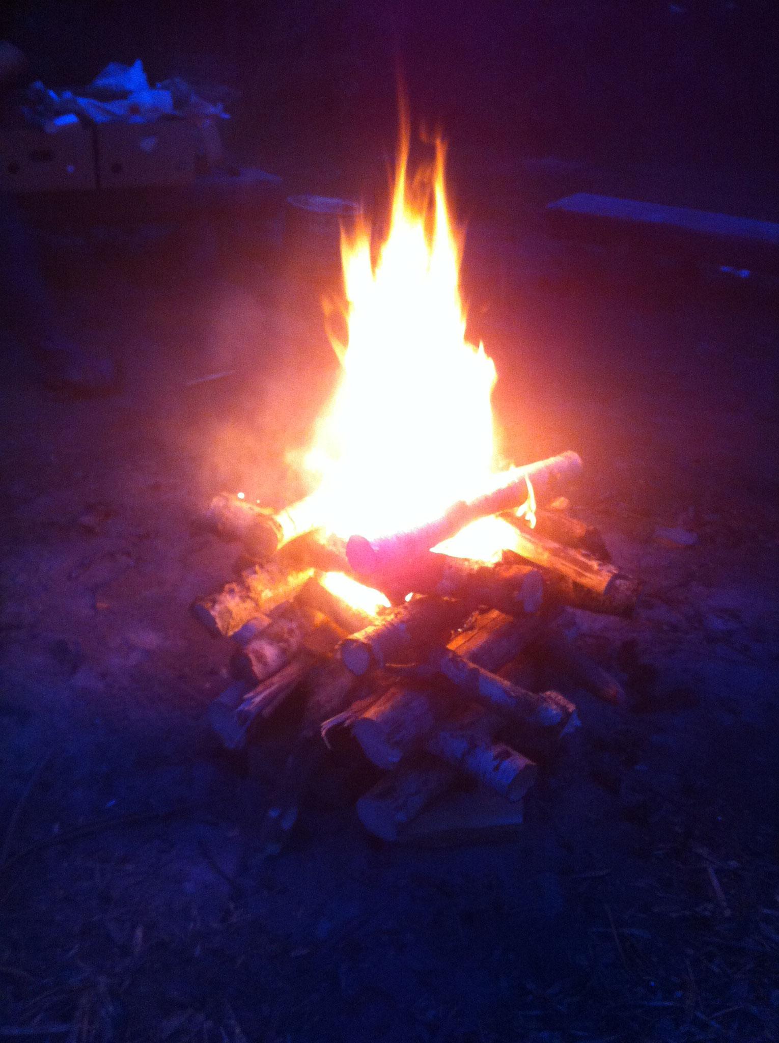 herrliches Feuer