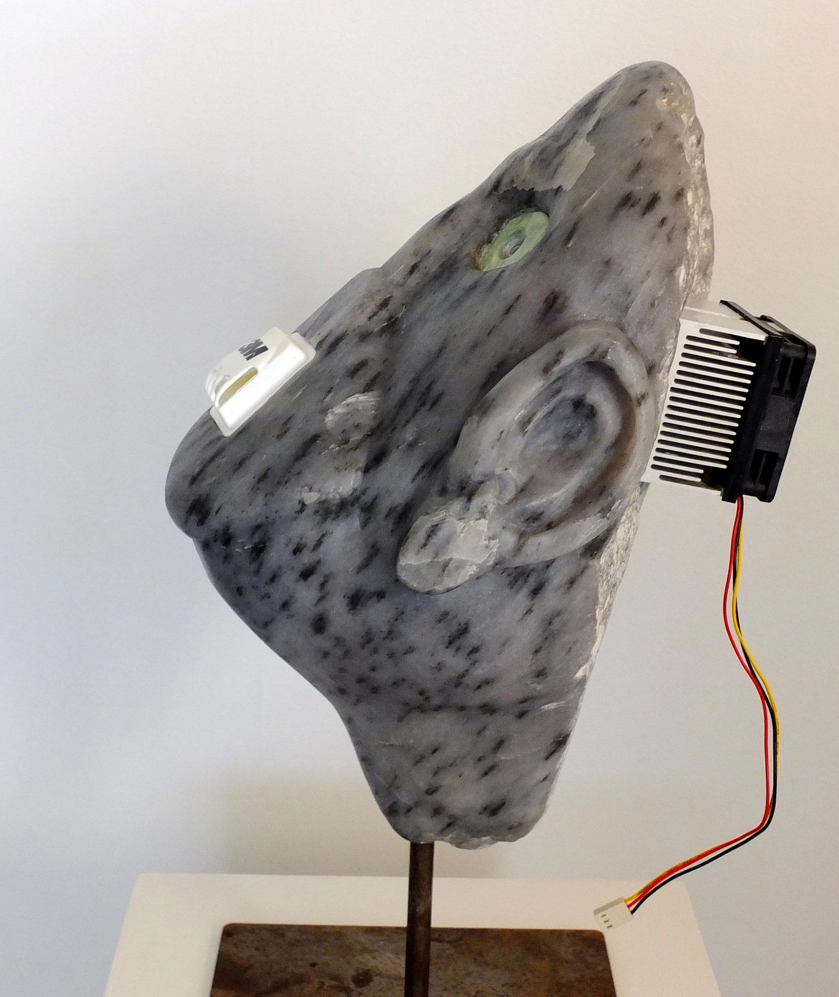 soapstone, e-waste, 3M maskenventil