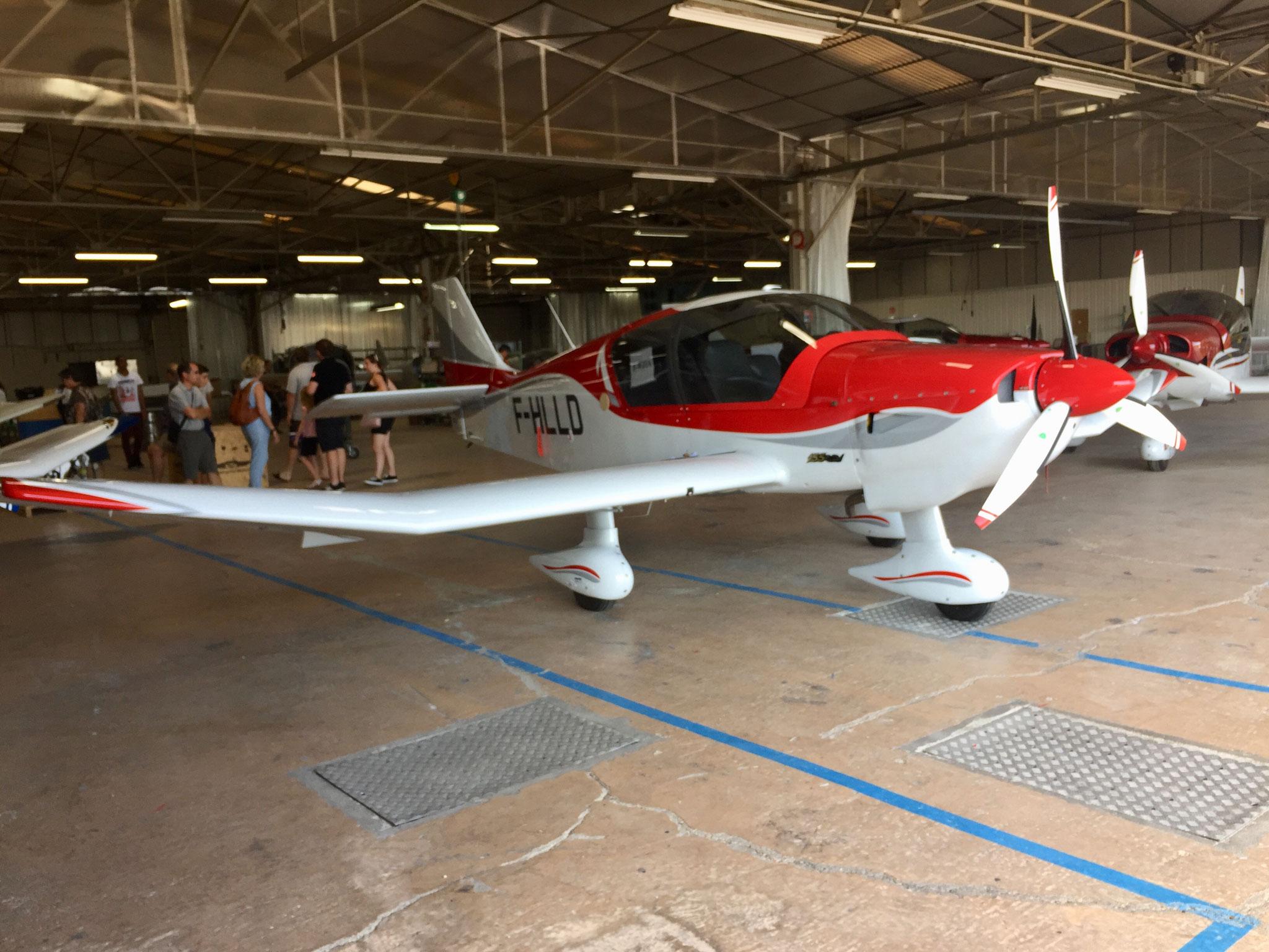 DR401-Montage avions prêts