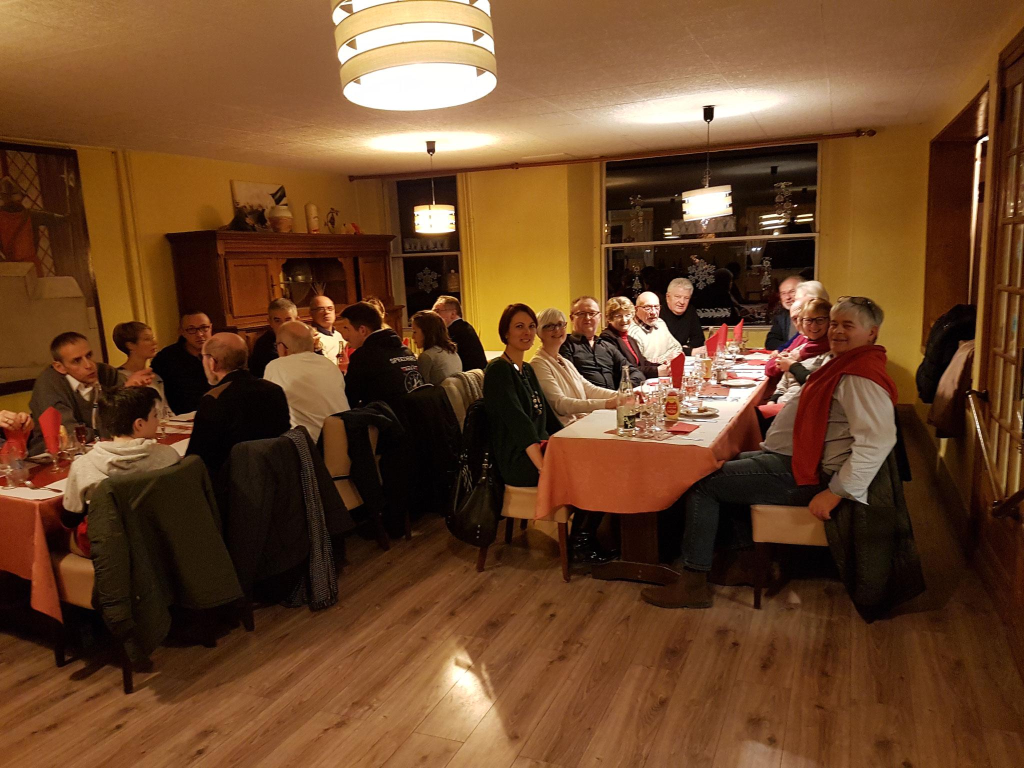 Aéro-Club de Sens - Galette 2019 - Membres - Dîner 1