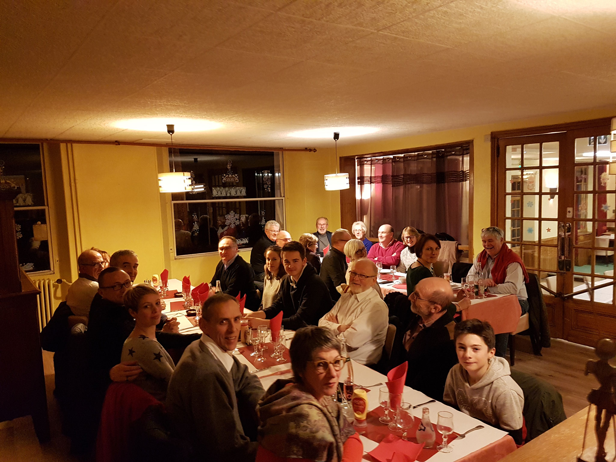 Aéro-Club de Sens - Galette 2019 - Membres - Dîner 2