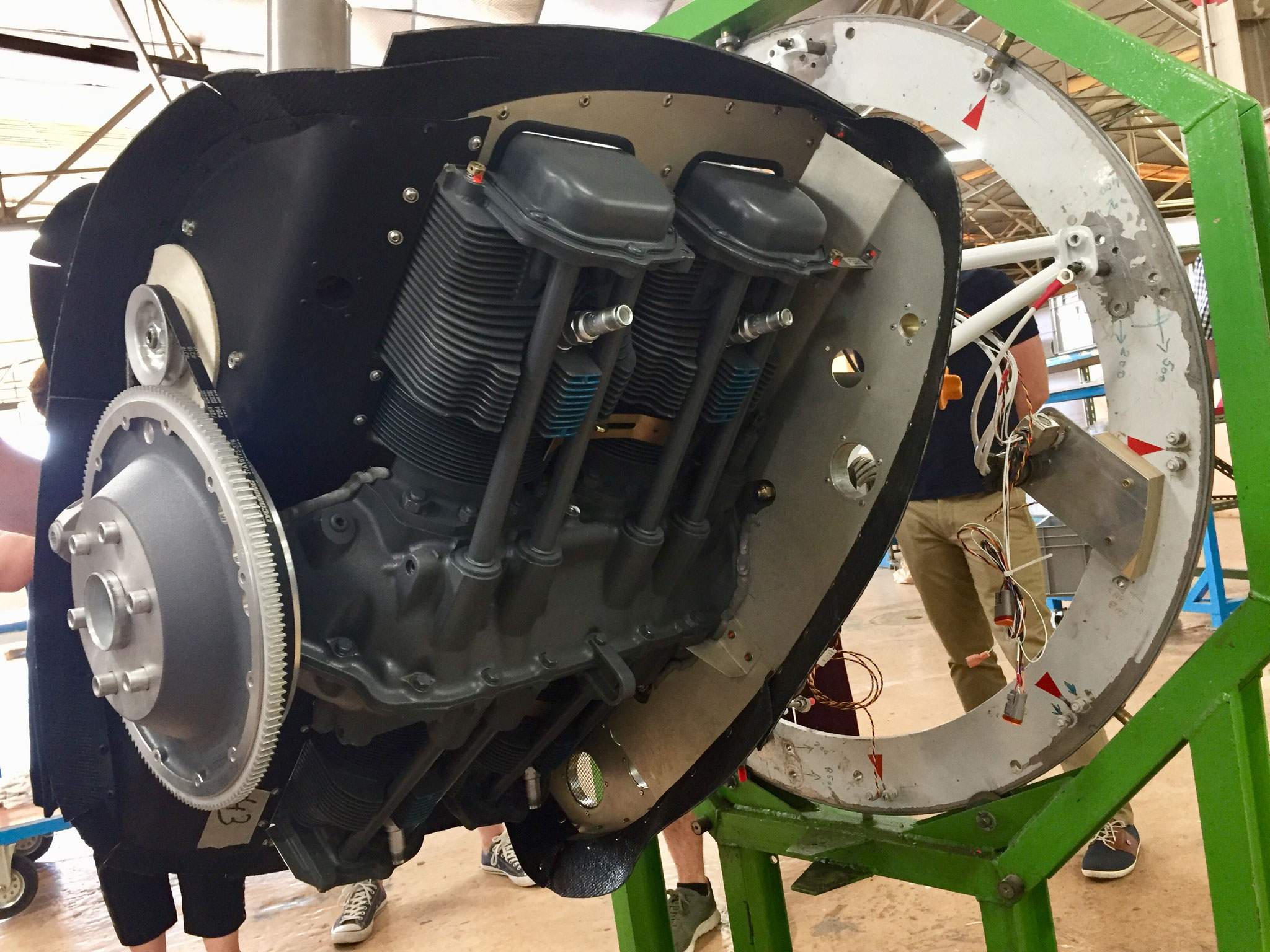 DR401-Montage Préparation Moteur Lycoming