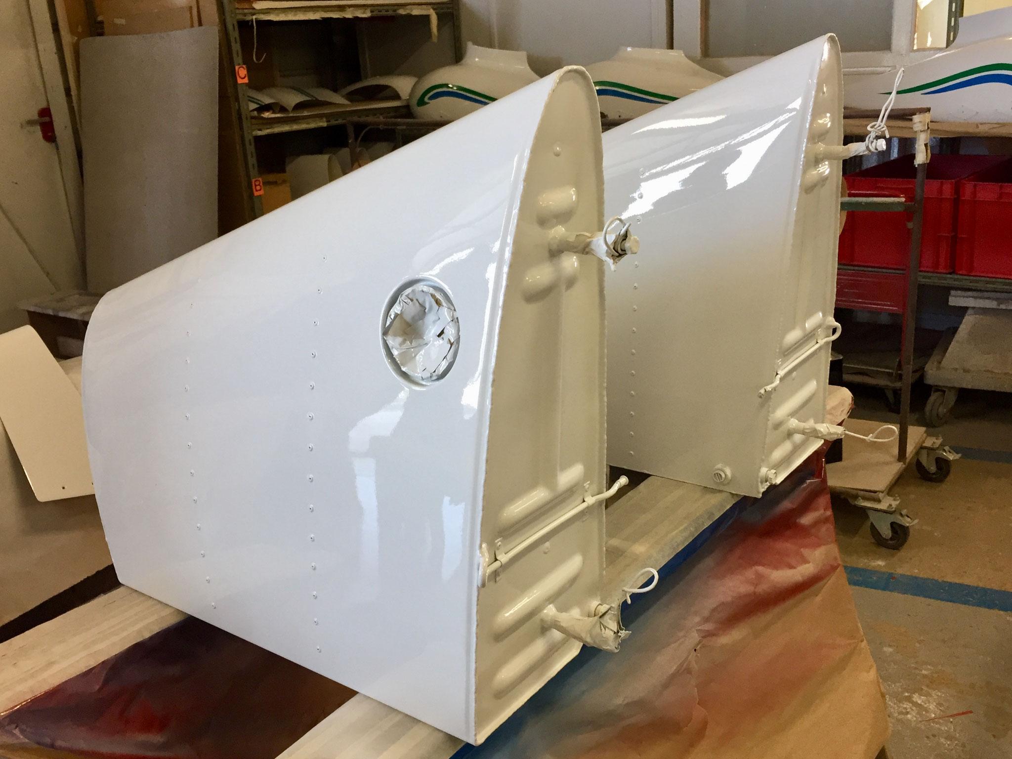 DR401-Peinture Réservoires aile