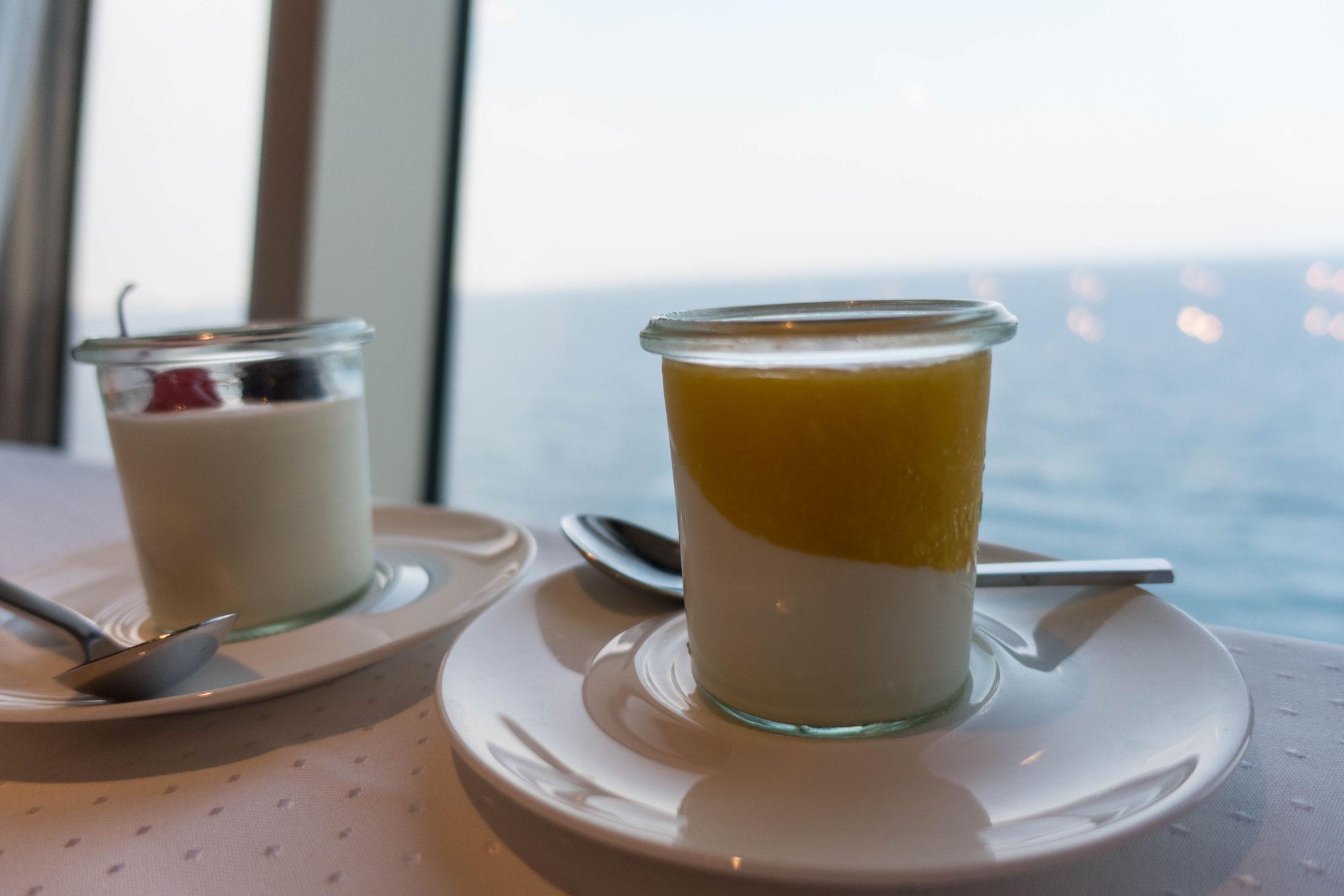 Yoghurt vom Mini-Buffet