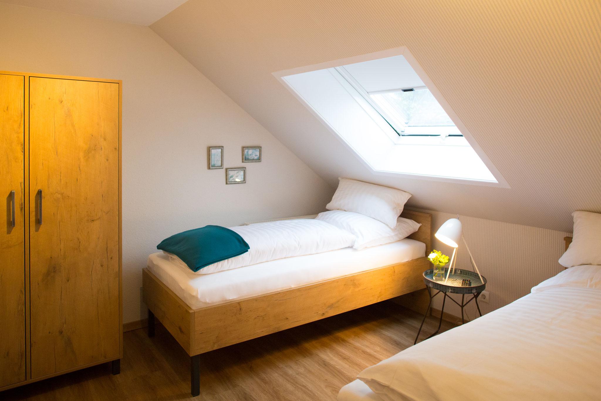 Zimmer 5, zwei Einzelbetten
