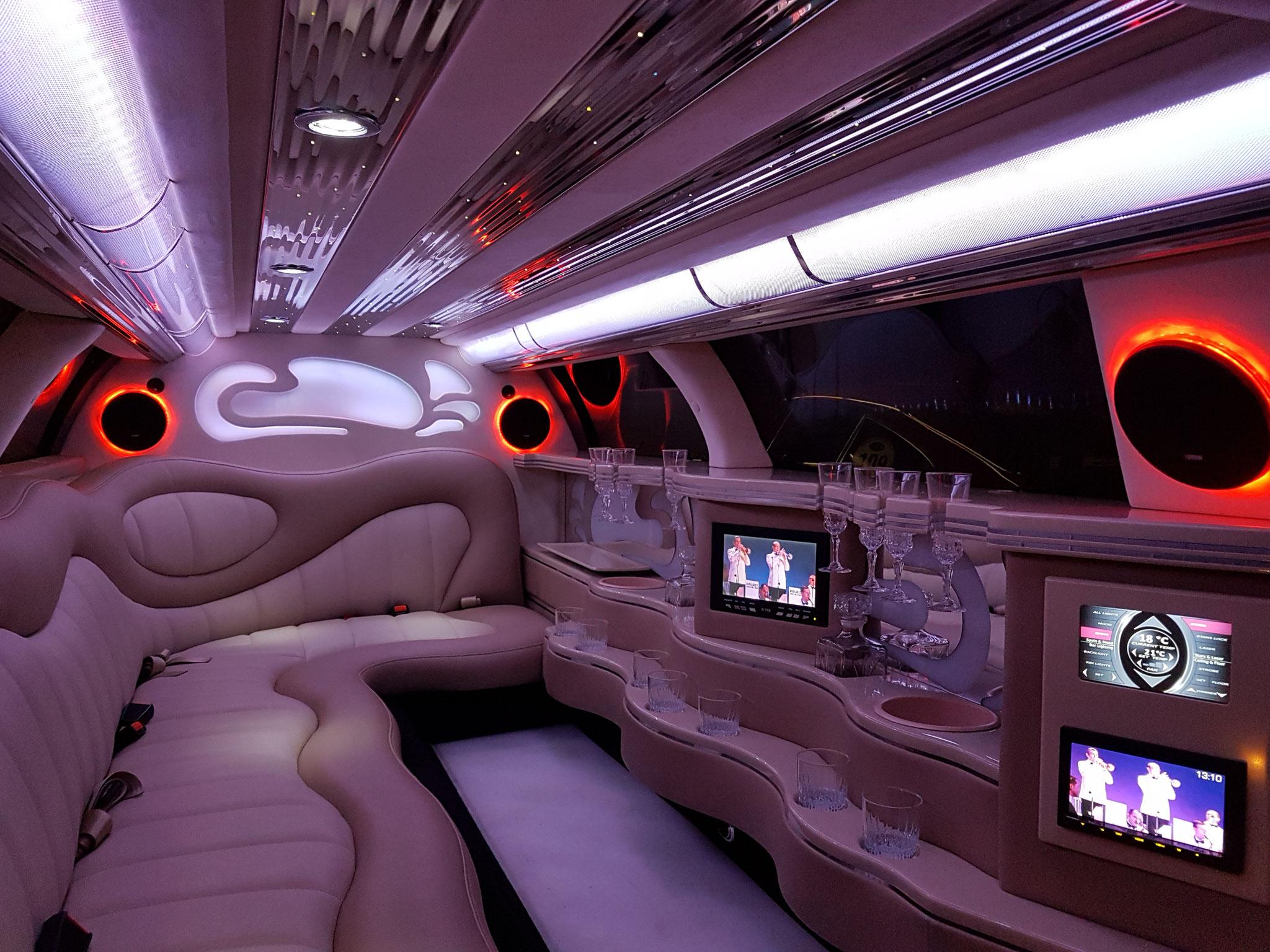 impression passenger cabin