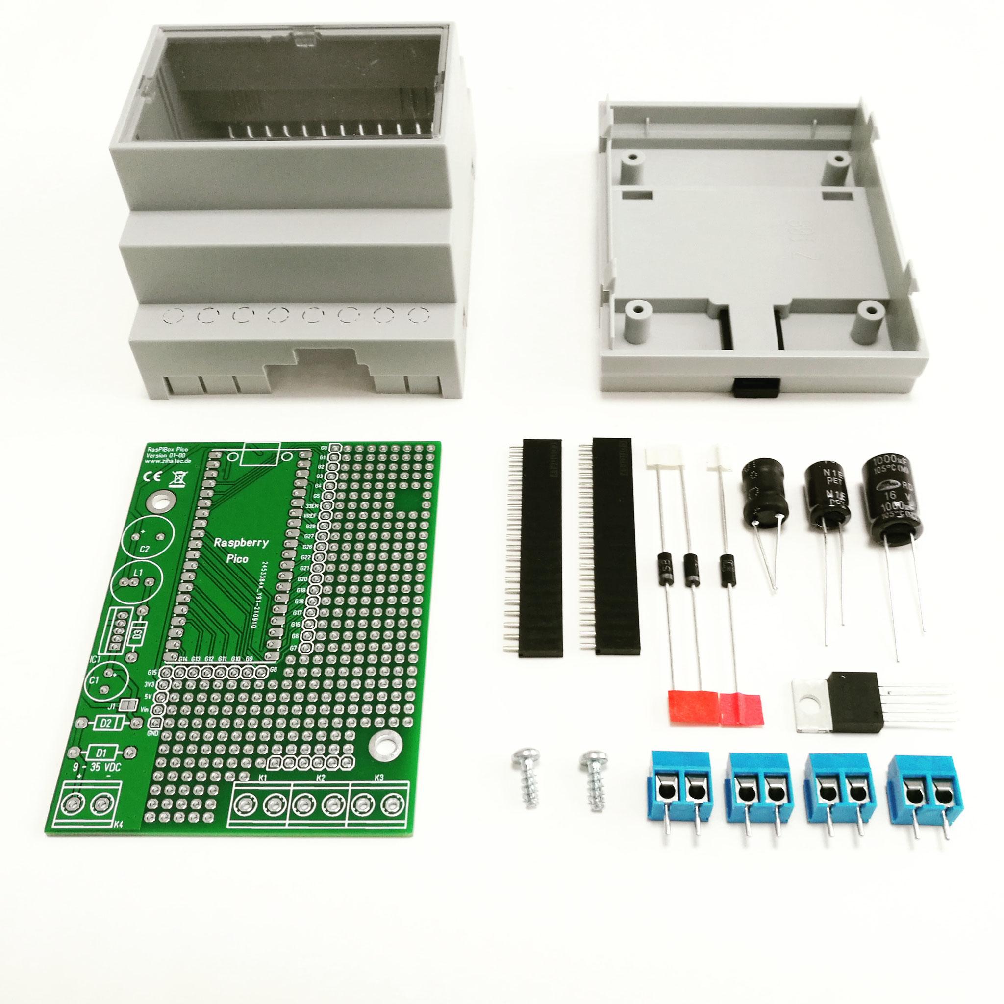 Bausatz Ausführung Standard (mit Spannungsregler)