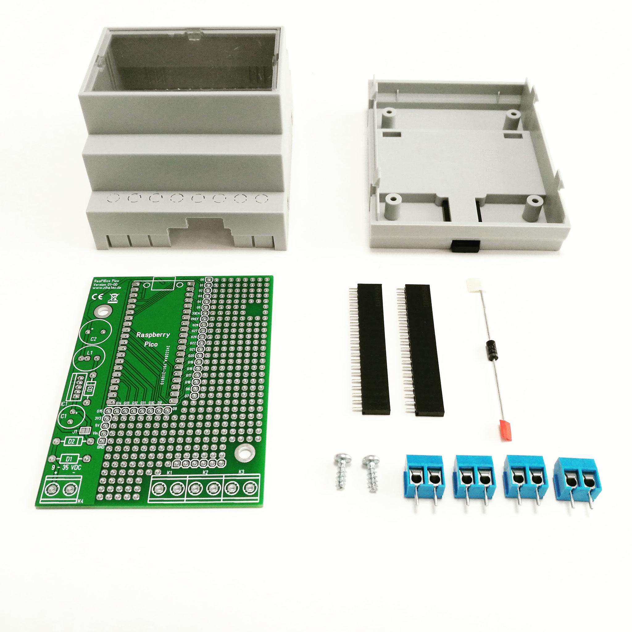 Bausatz Ausführung Basic (ohne Spannungsregler)