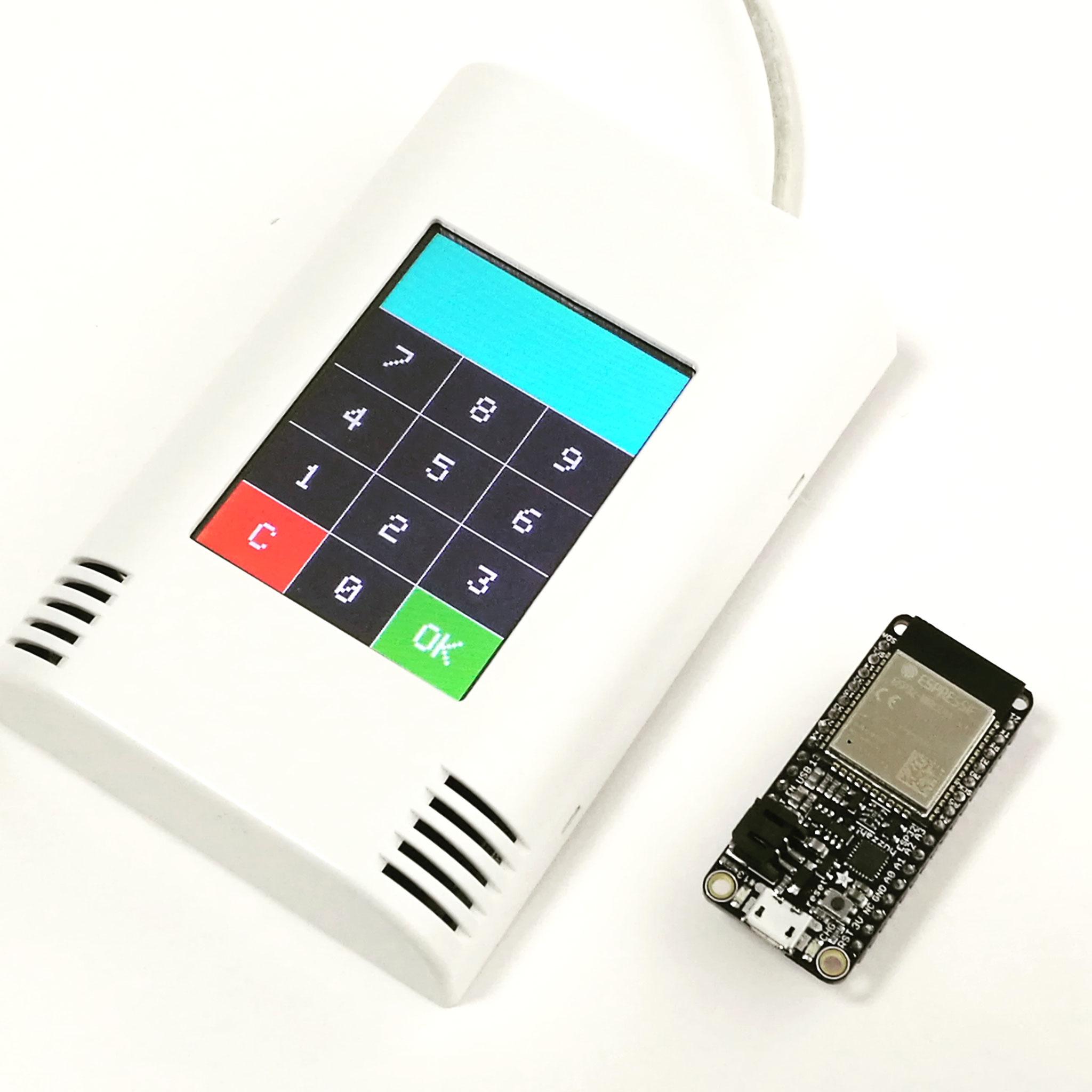AZ-Touch with Huzzah ESP32 module