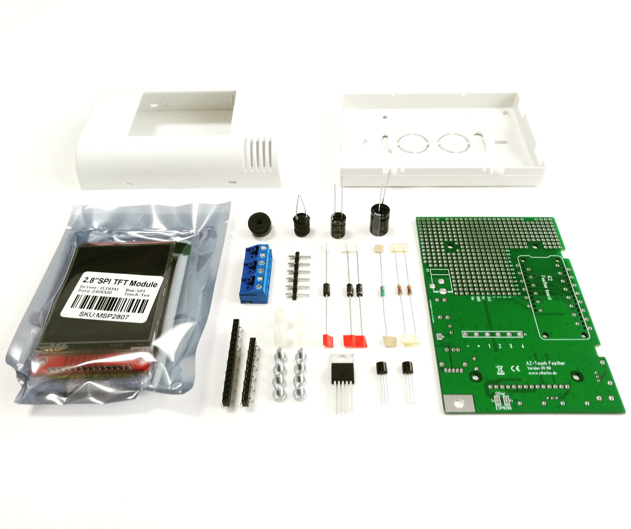 Overview AZ-Touch Feather Kit