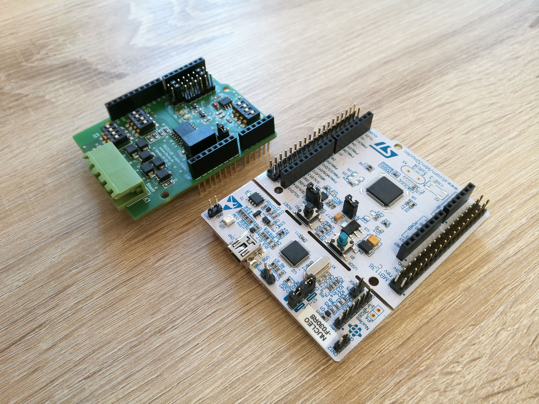 RS422 / RS485 Shield & STM Nucleo