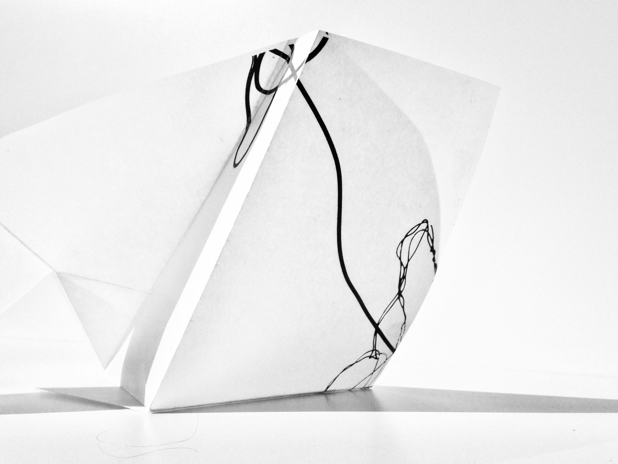 Plastik Nr. 06, Papier, 15x25cm, 2018