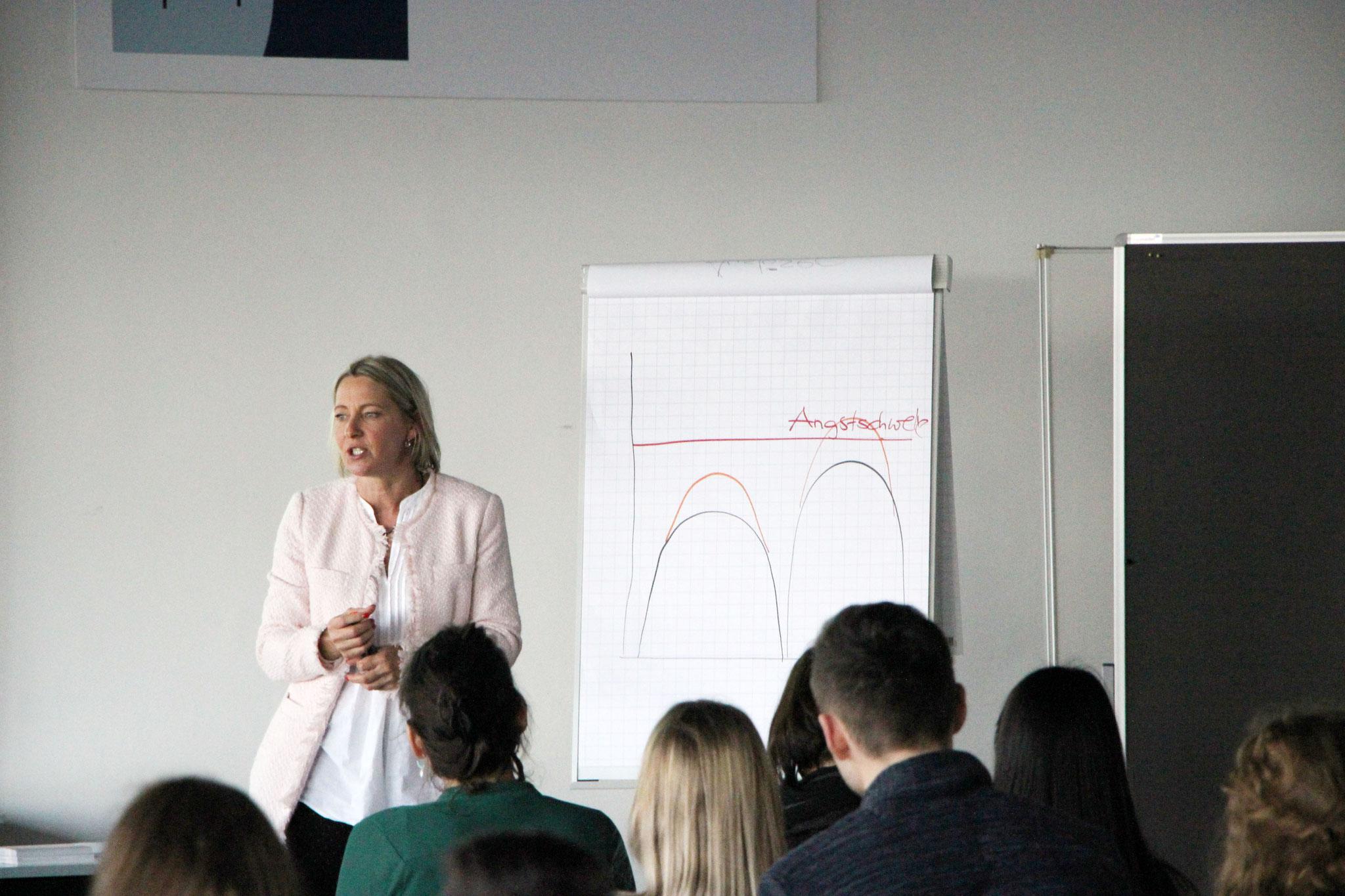 Vortrag Prüfungsangst im IHK Bildungszentrum