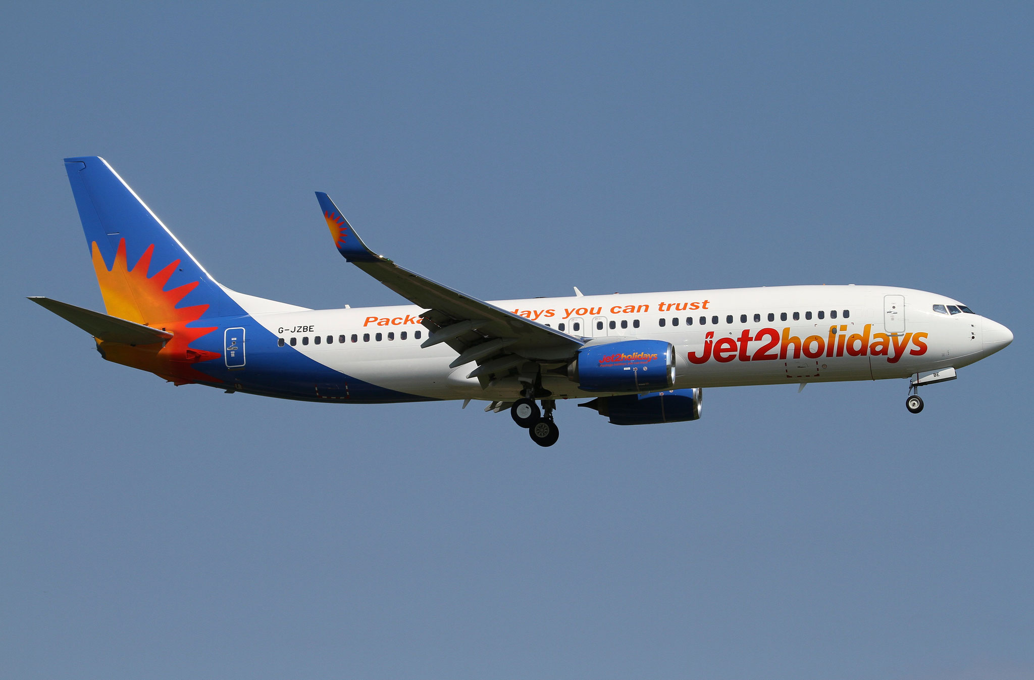 G-JZBE B737-800 63161/6703 Jet2