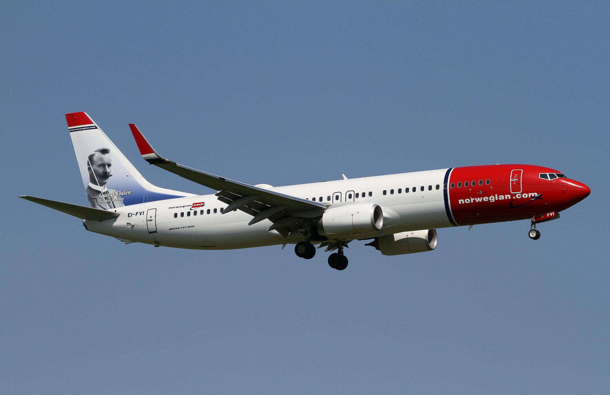 EI-FVI B737-800 42274/6247 Norwegian