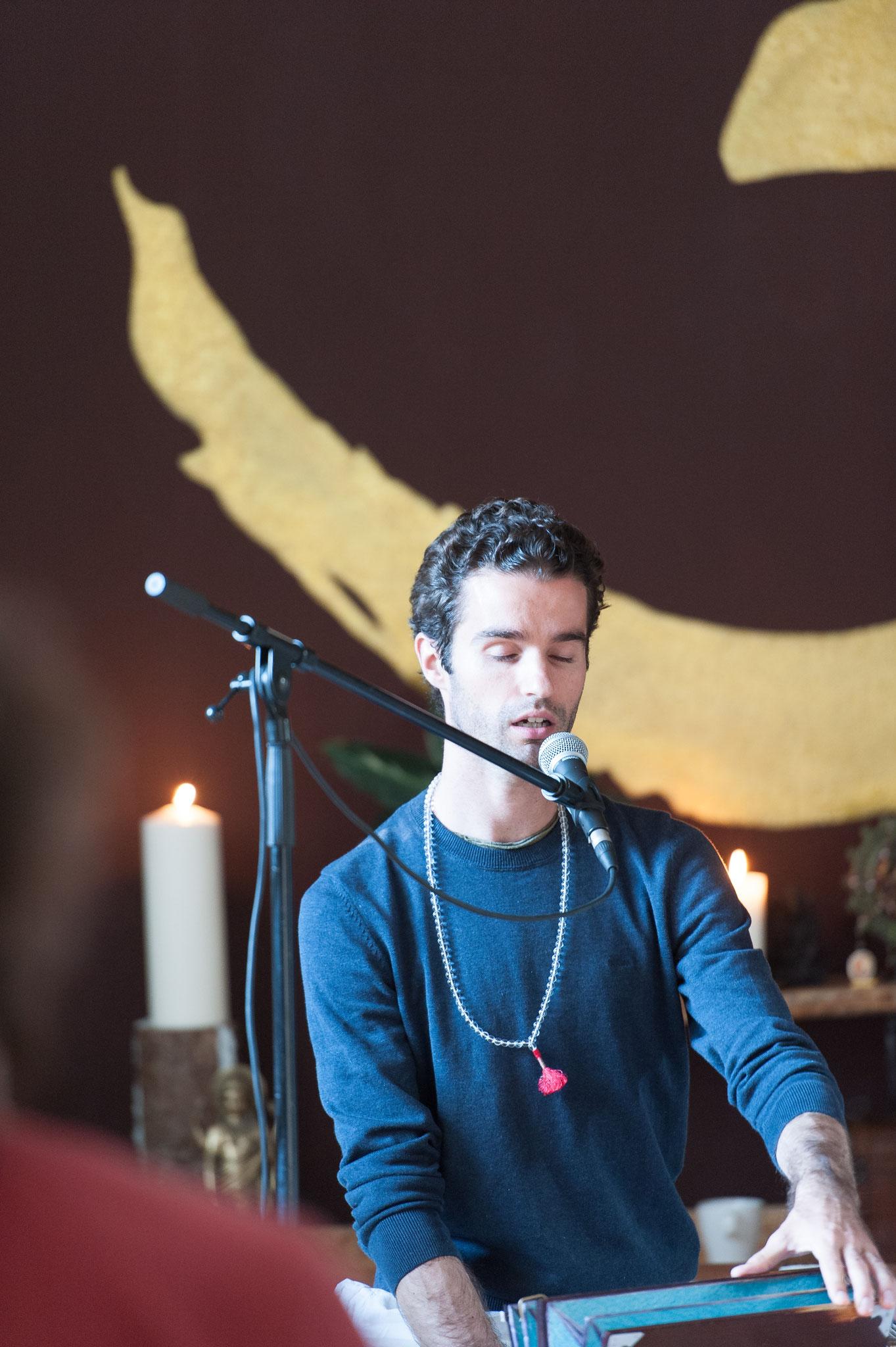 Konzert bei Soham-Yoga, Schwetzingen 2015