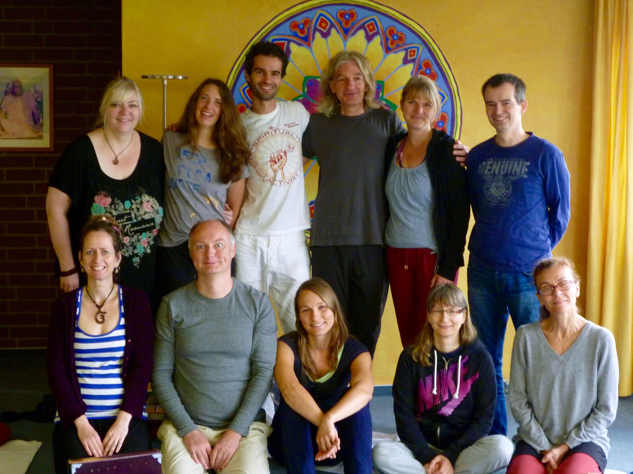 meine Kirtan&Harmonium- Ferienwochengruppe 2016, Yoga Vidya Bad Meinberg