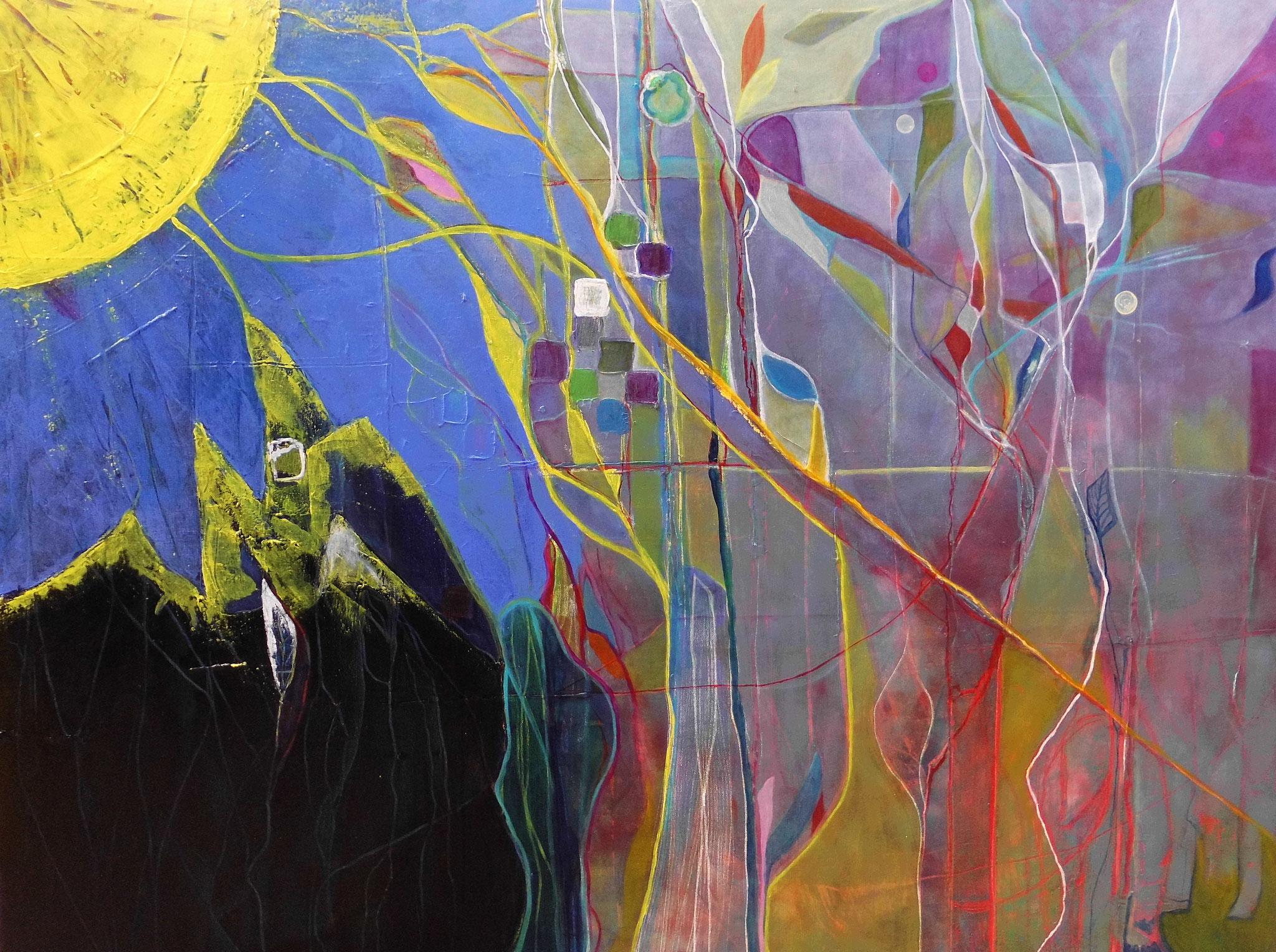 Klärung, 2018, 120/150cm,  Marlis Hartg,  1950€