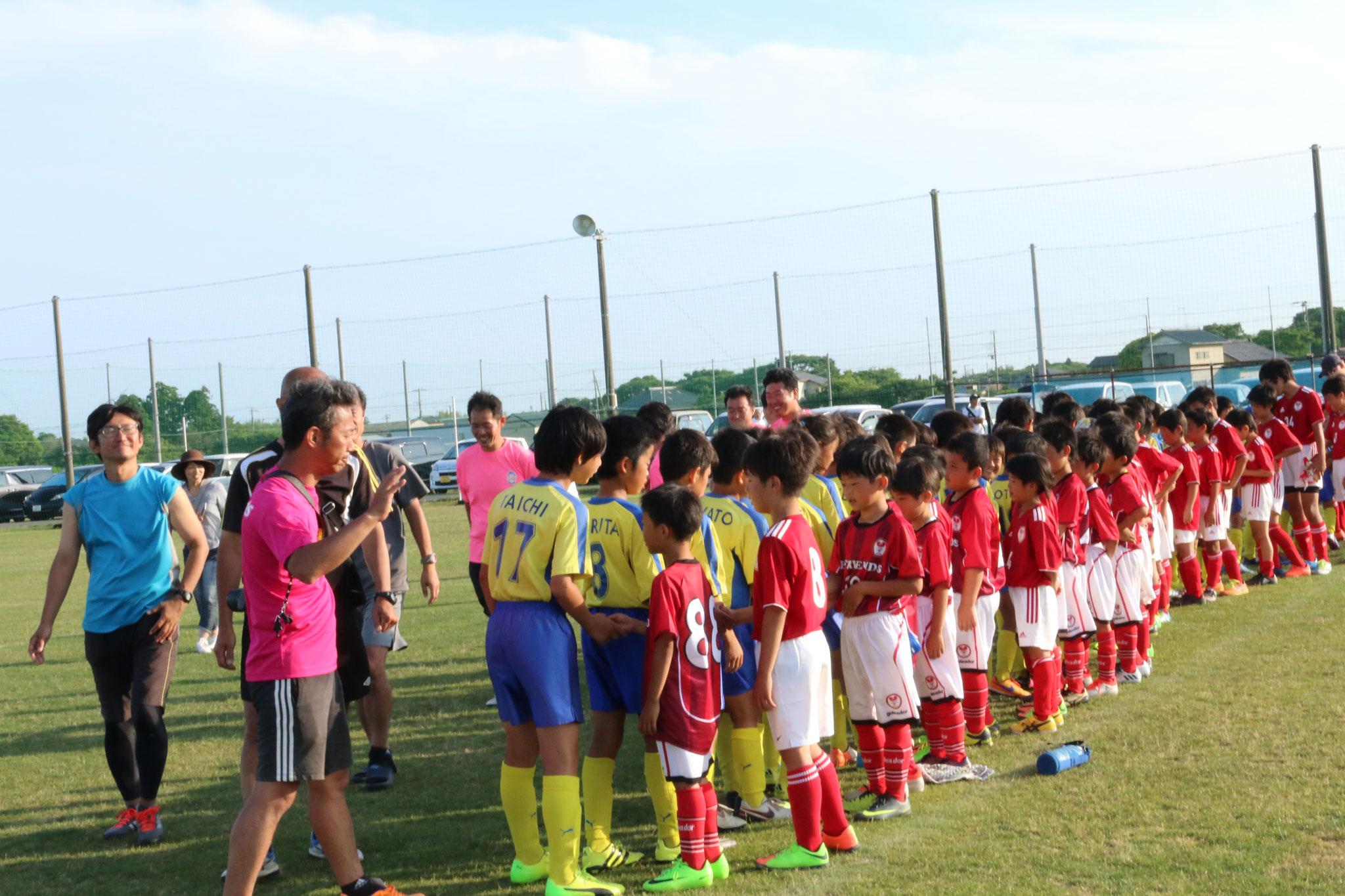 FC.フレンズさん、JSC CHIBAさん。ありがとうございました。