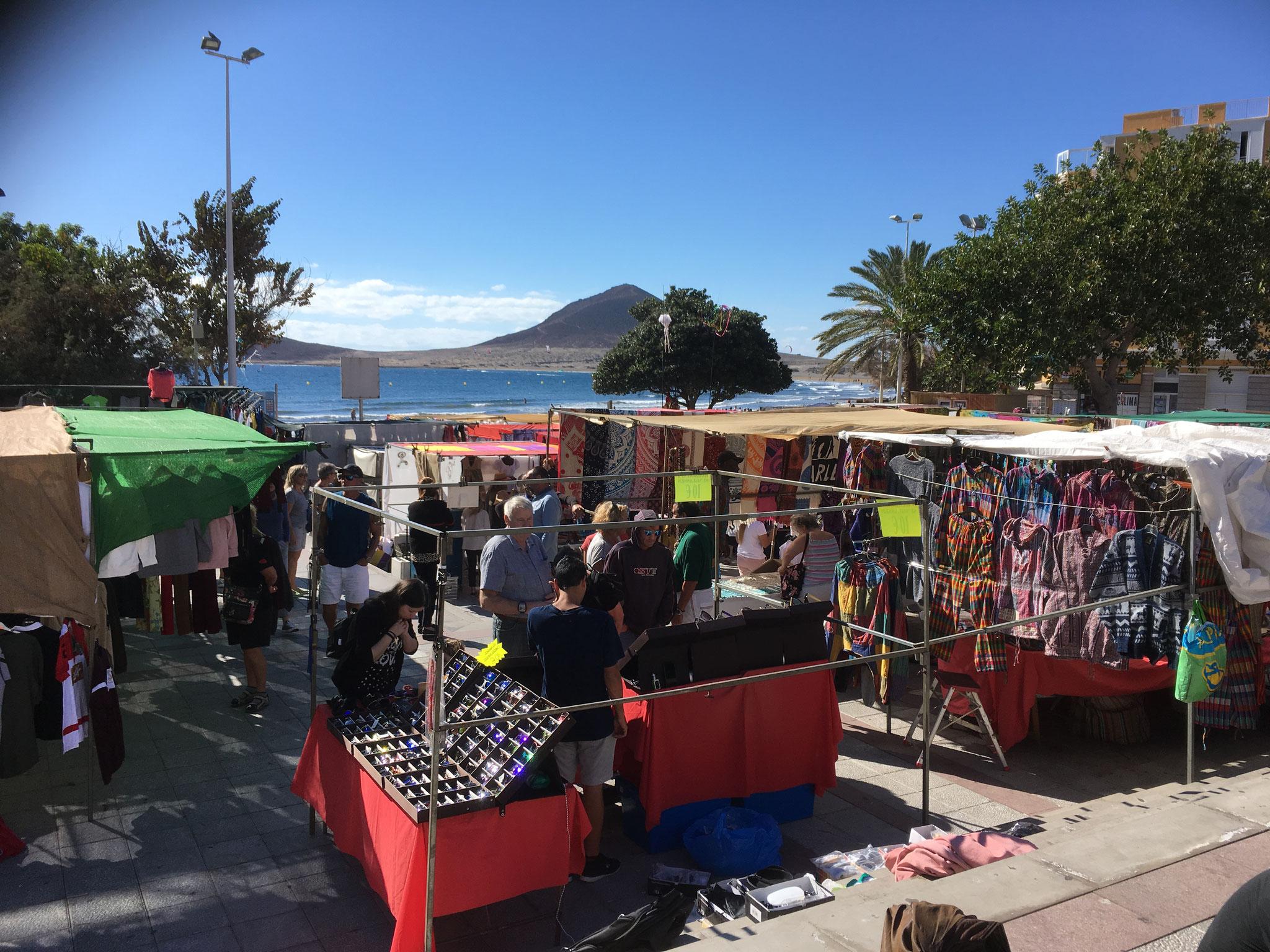 Markt in El Medano