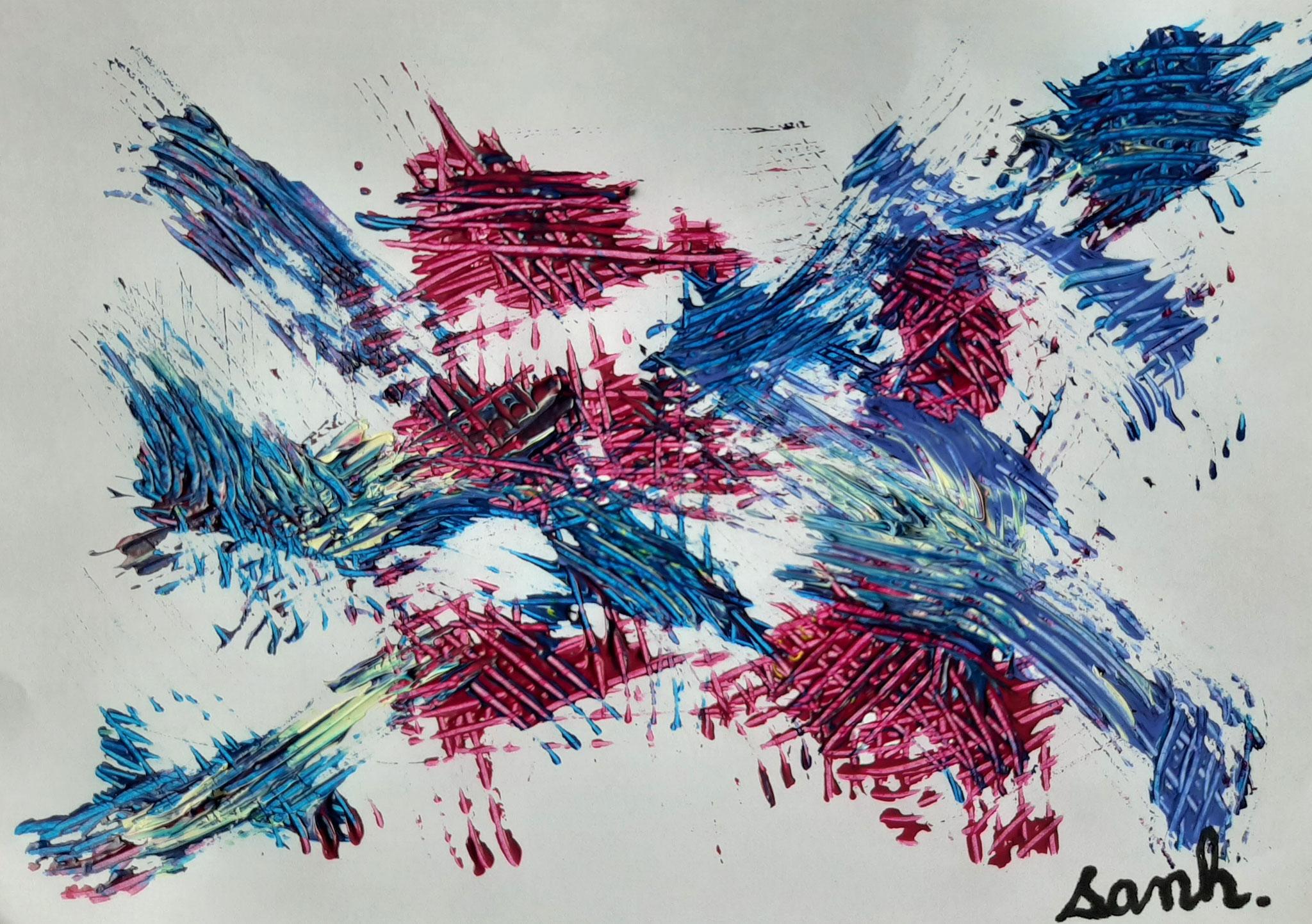 oeuvre de Sanh (6 ans)