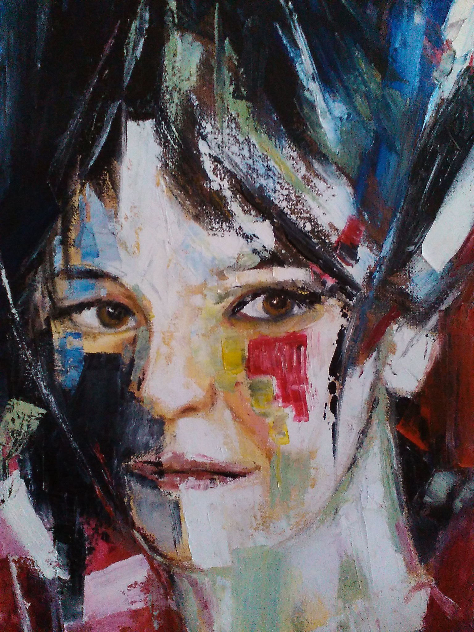 acrylique de Géraldine PICHARD