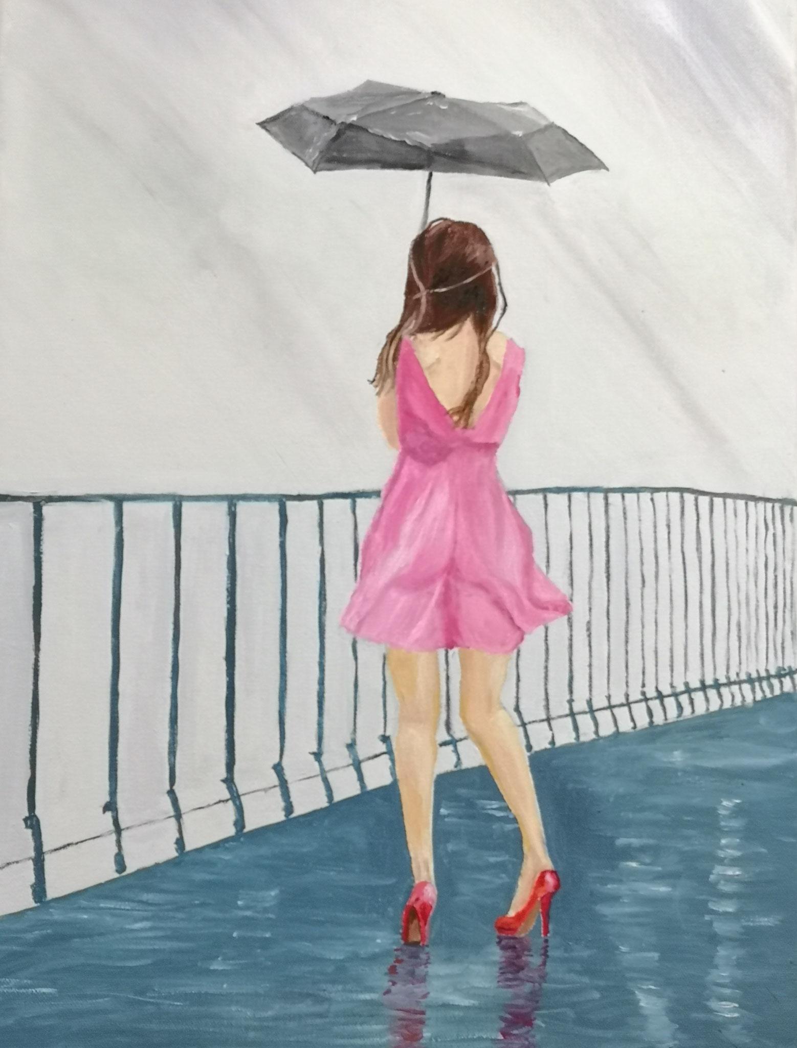 """""""La jeune fille sur le pont"""" du Thérèse FONDEUR"""