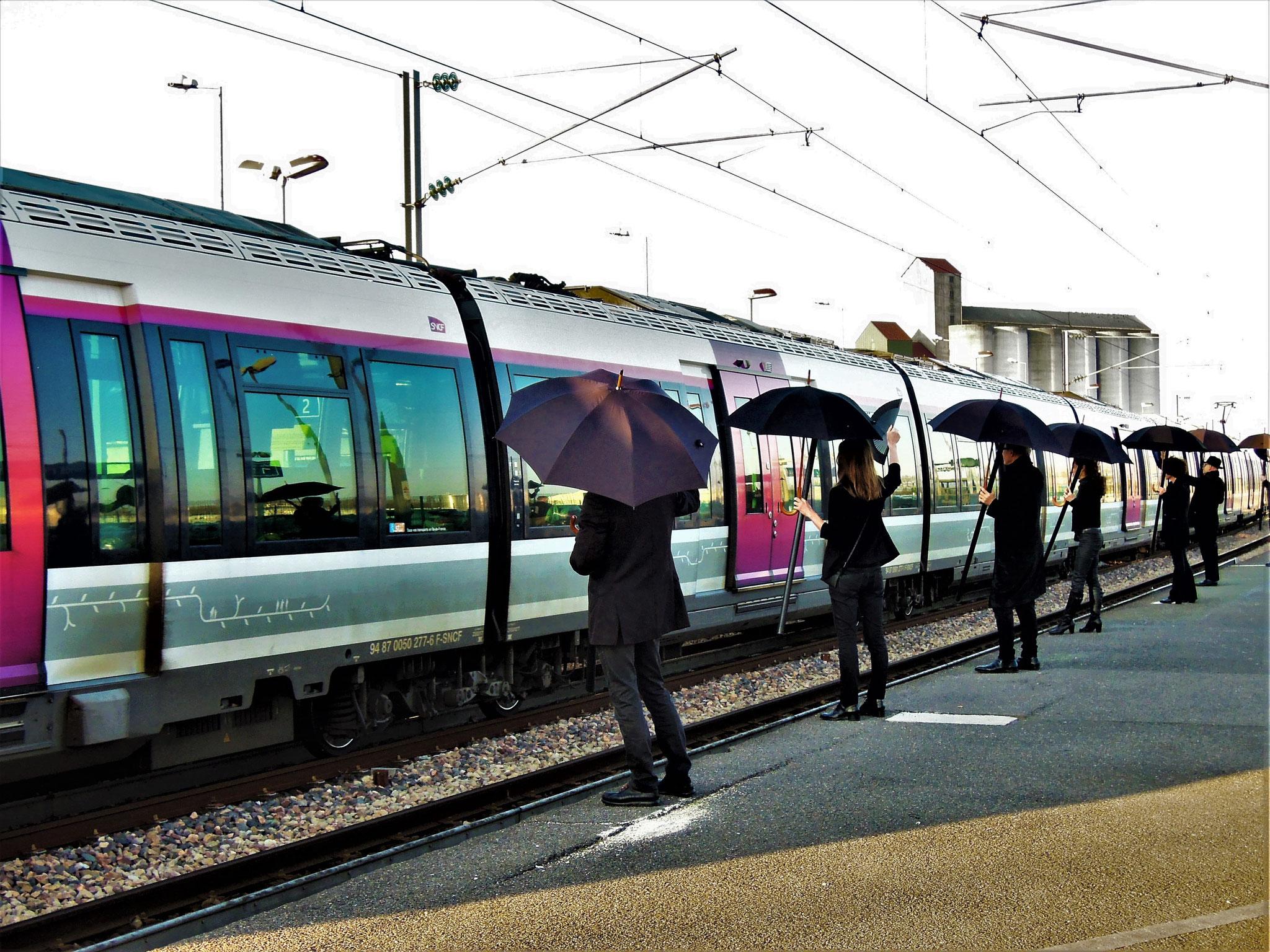 22 mars - Gare de Marles-en-Brie