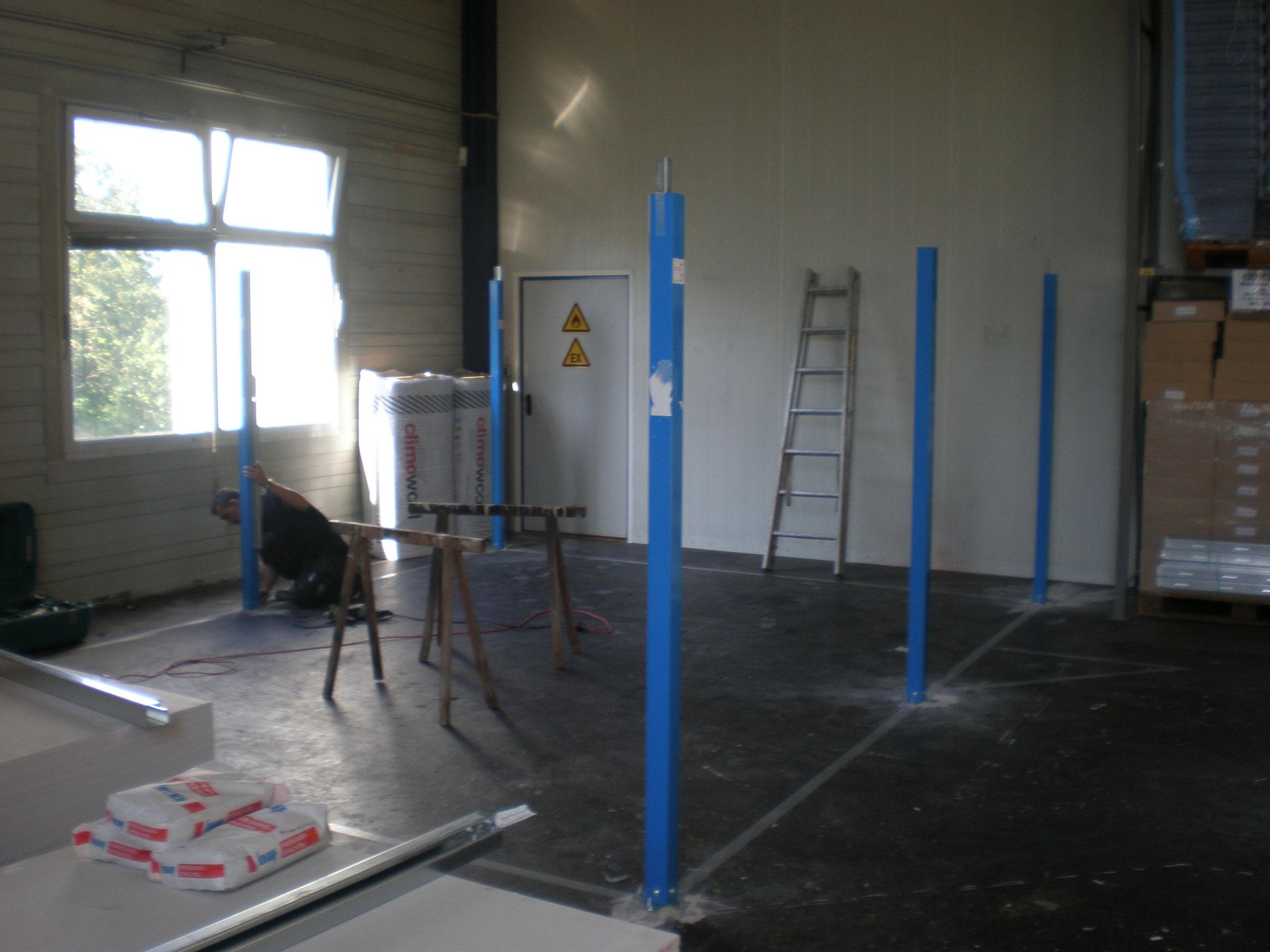 Frank Hörmann Projekt: Zentrallager UKSH, System Knauf Cubo