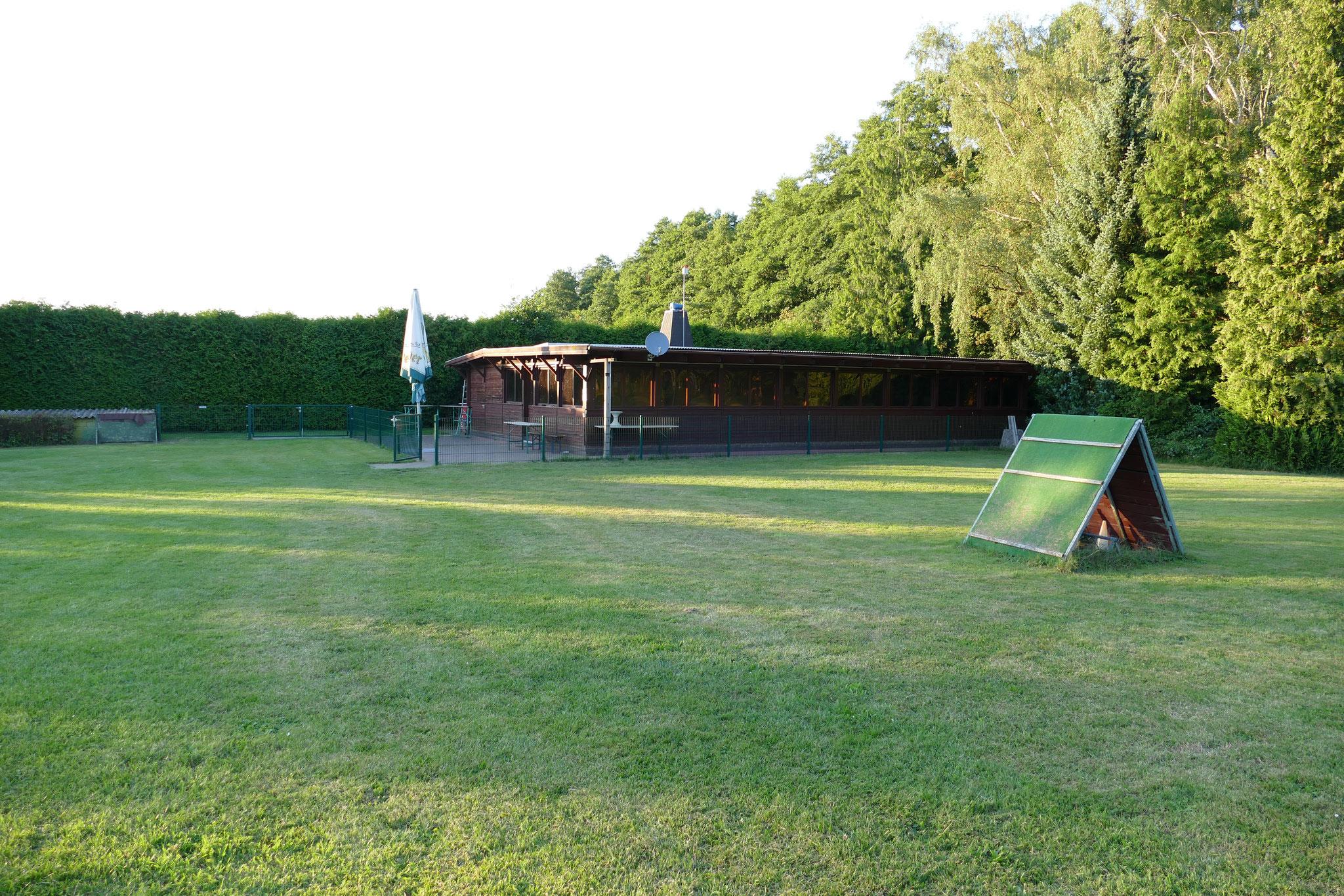 Perfekt für Seminare und Workshops: Das Vereinsheim