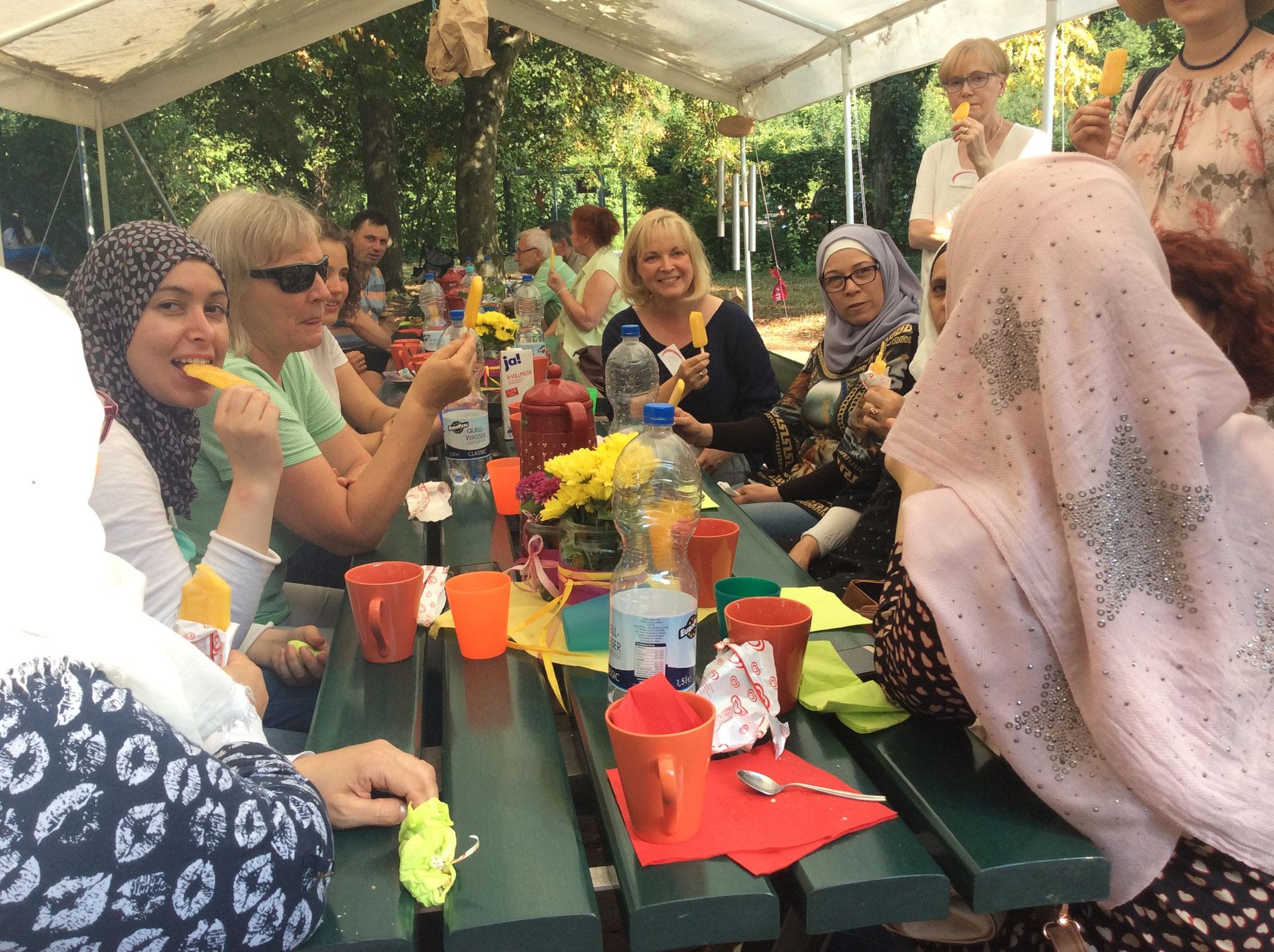 19.08.18 Das Sommerfest bei der evang.-meth. Kirche im Lindentäle