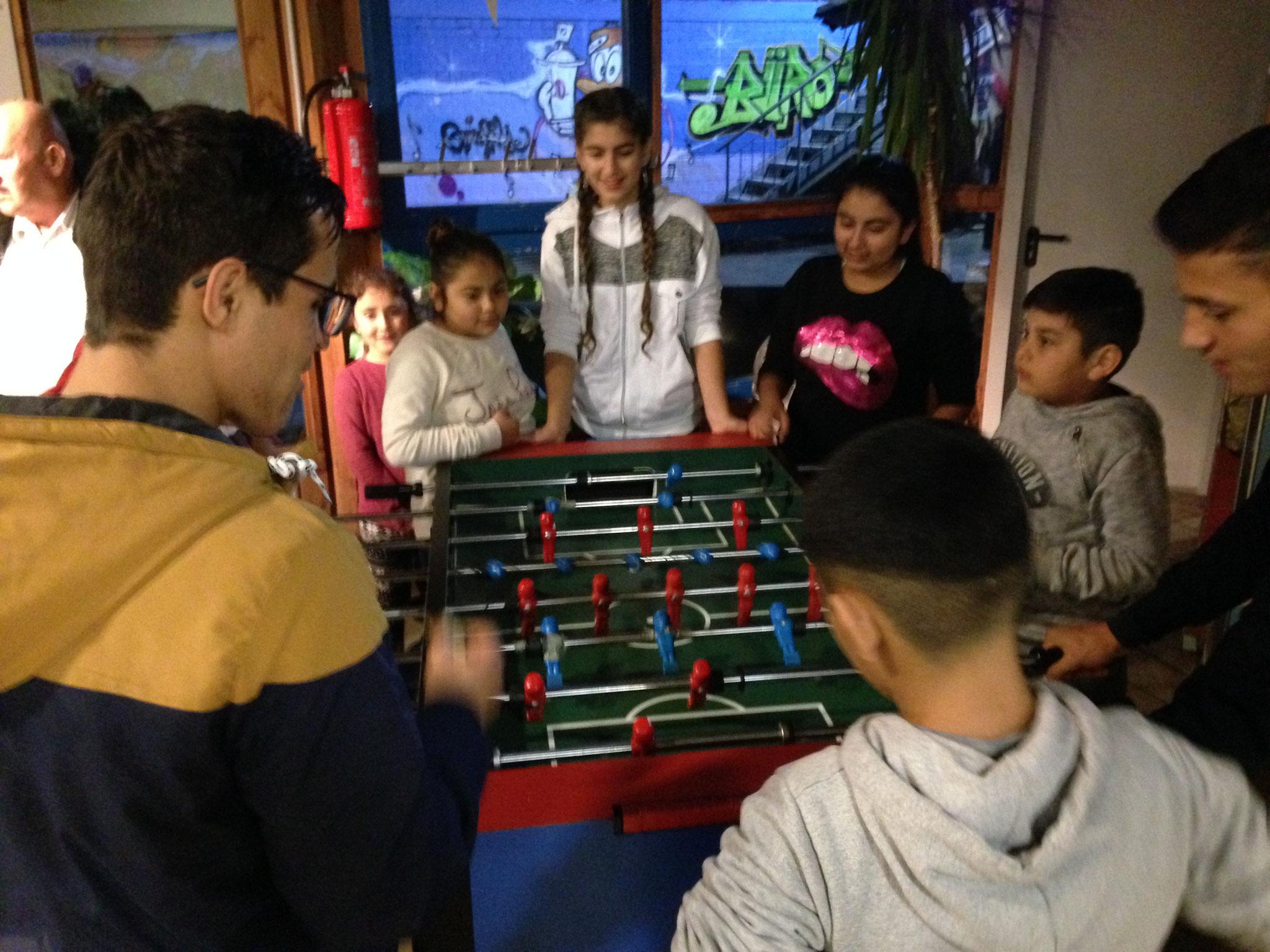 spielen - immer mittwochs beim Treff International