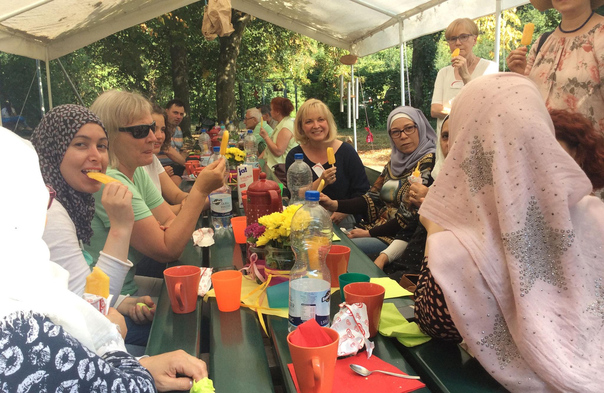 9.08.18 Das Sommerfest der evang.-meth. Kirche im Lindentäle
