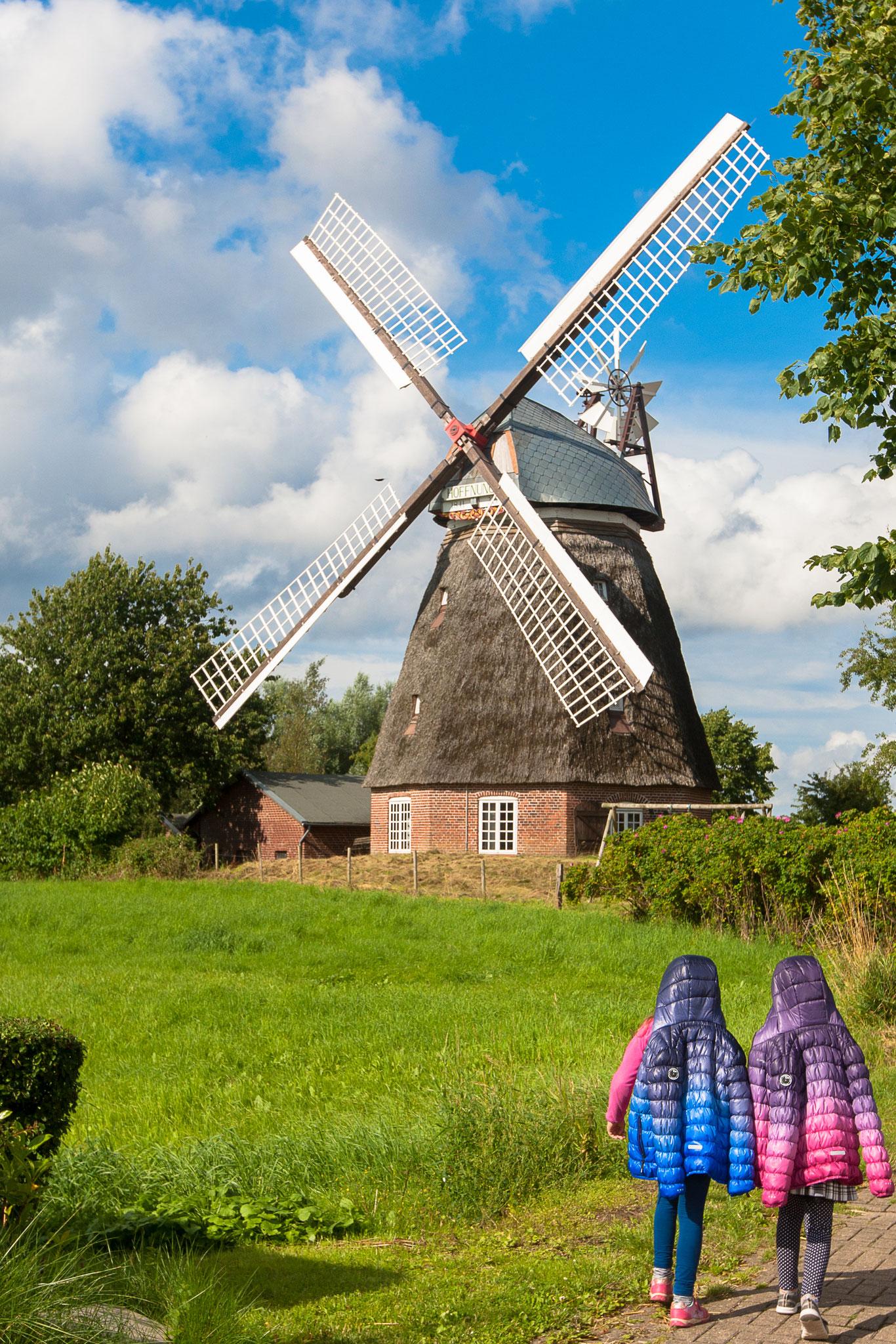 Windmühle in der Umgebung