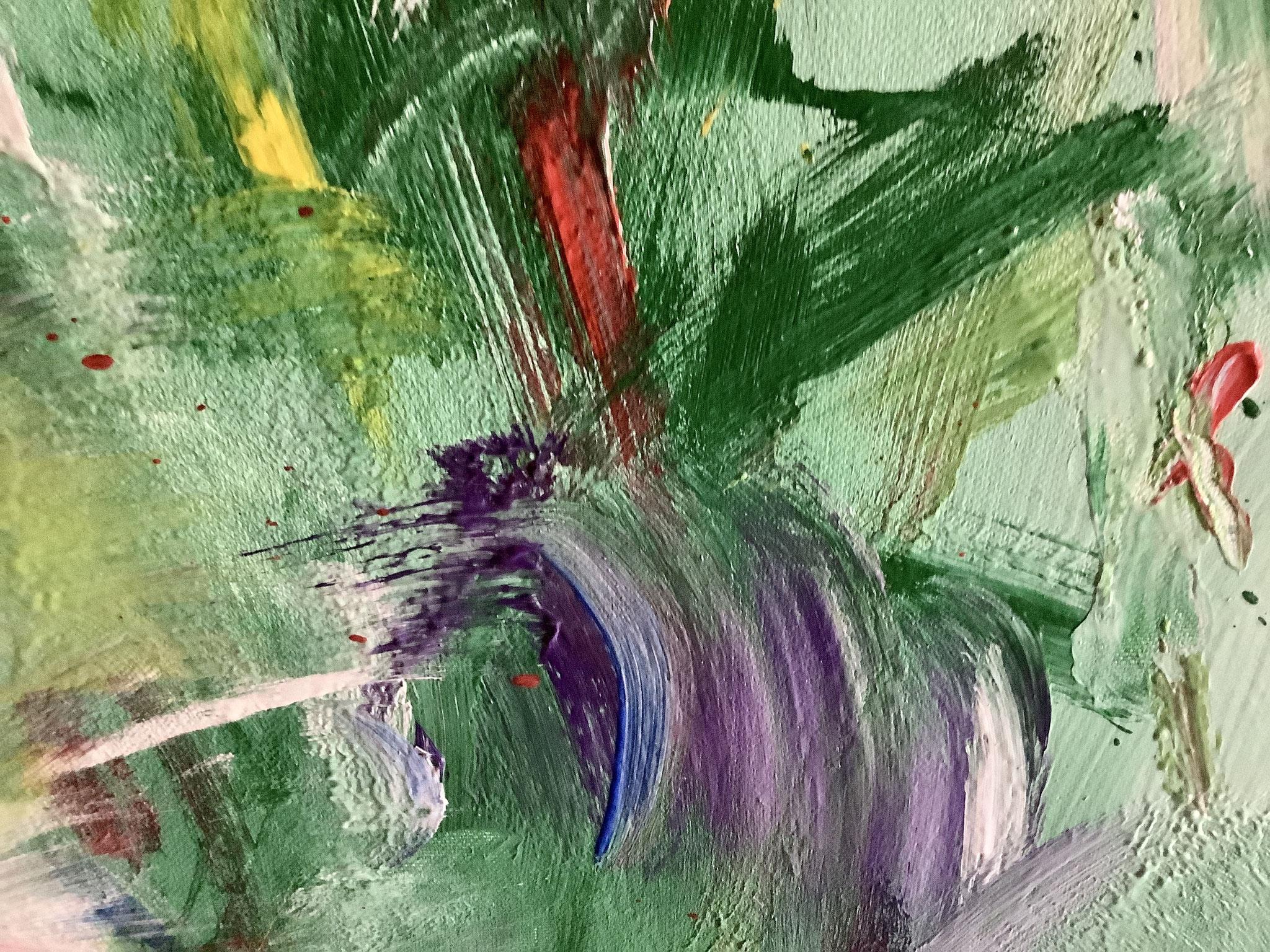 """""""Wiese mit Klatschmohn"""" Detail, ©️Stefan Miteff 2021"""