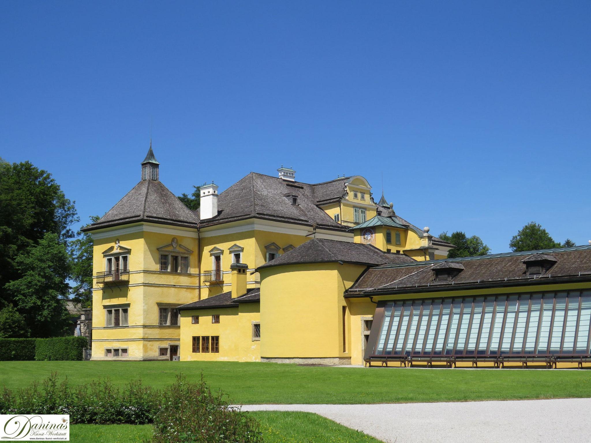 Park Schloss Hellbrunn mit Orangerie, Salzburg