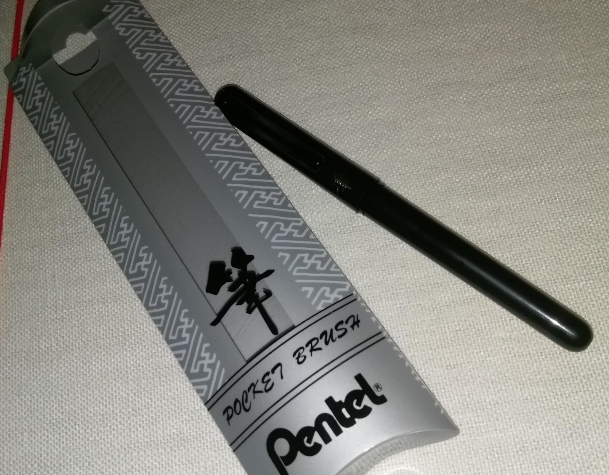 Ein Pentel-Brush Stift...ich bin gespannt wie der ist :)