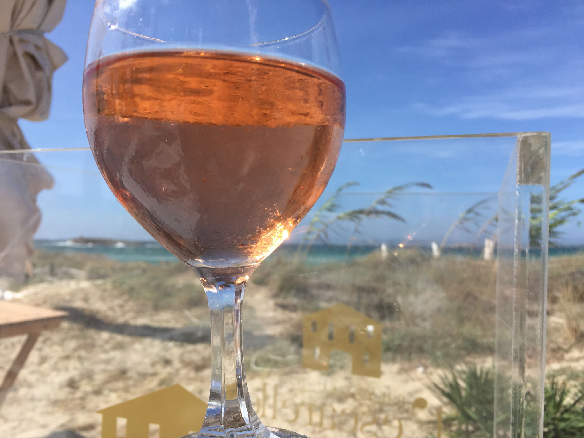 Rose Wine@Juan y Andrea, Formentera, Spain