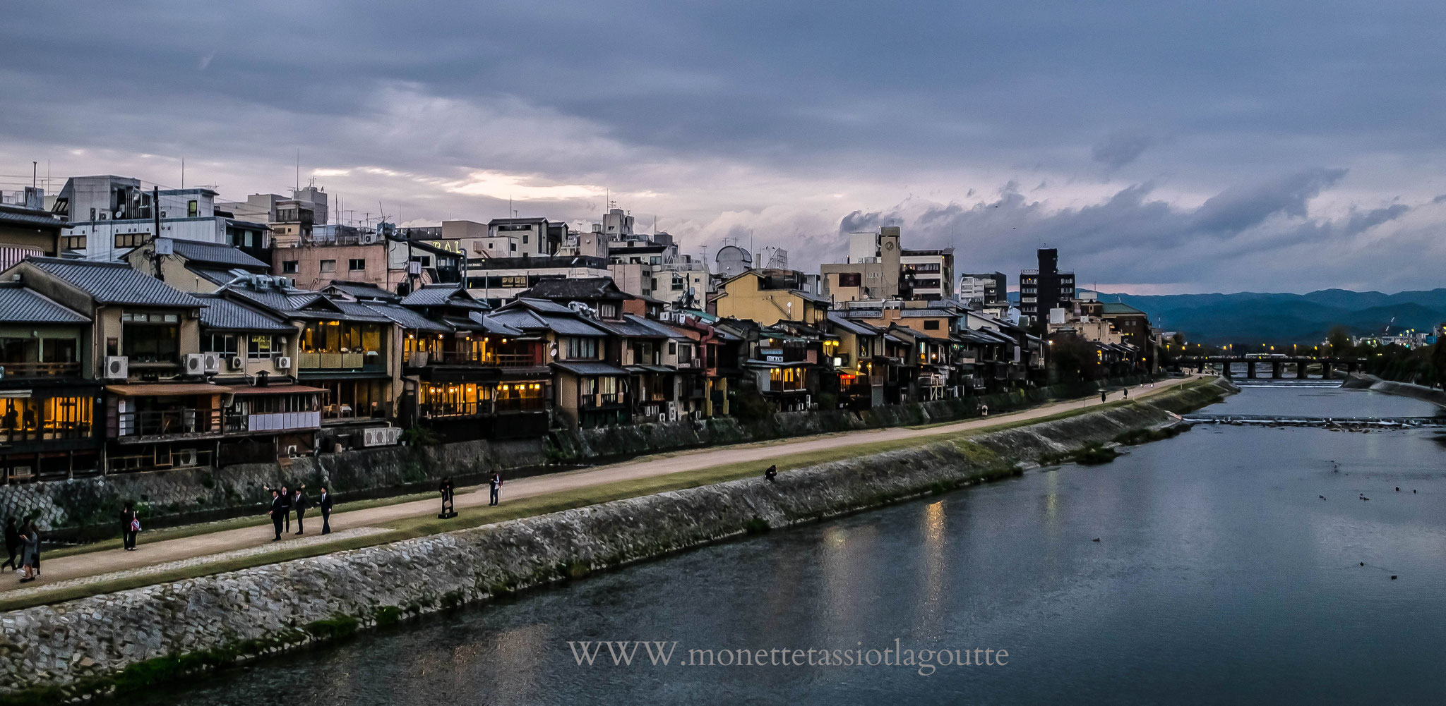 Vieille rue à Kyoto
